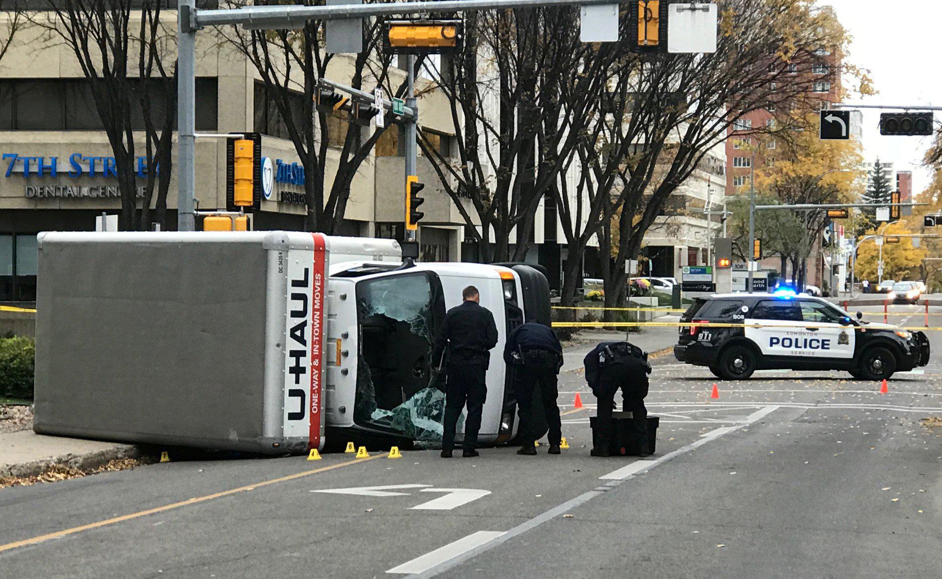 Image: Edmonton terrorist attack scene
