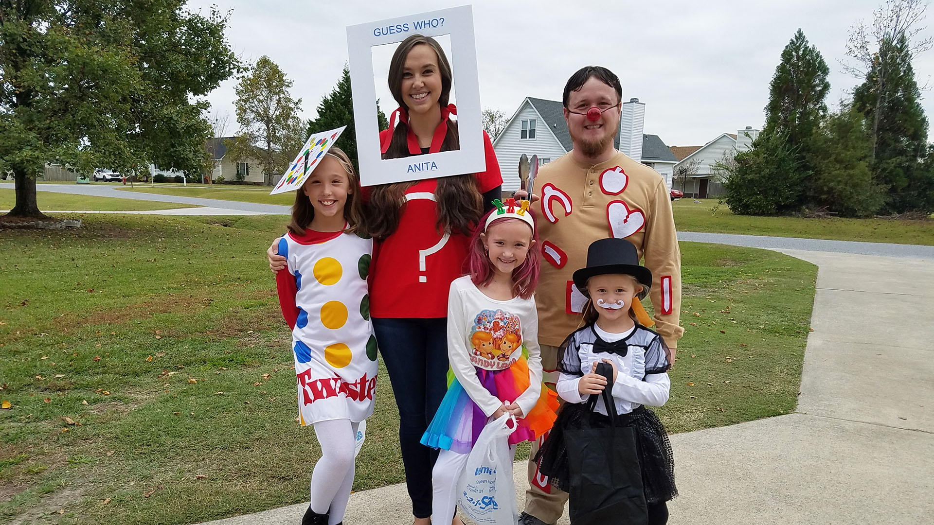 31 Days Of Halloween Costumes Family Game Night