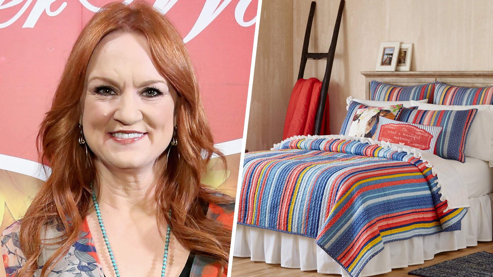 U0027Pioneer Womanu0027 Ree Drummond Has A Bedding Line Now