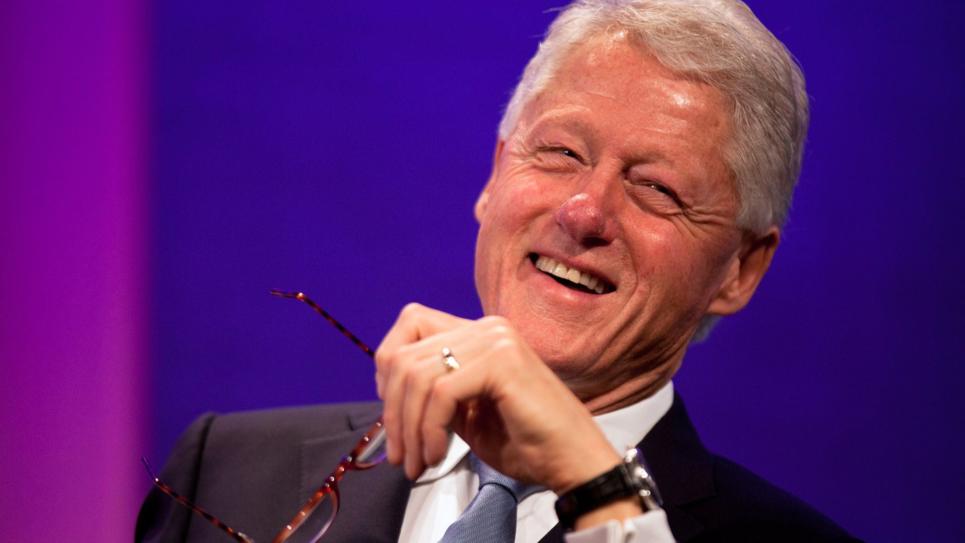 life history of bill clinton