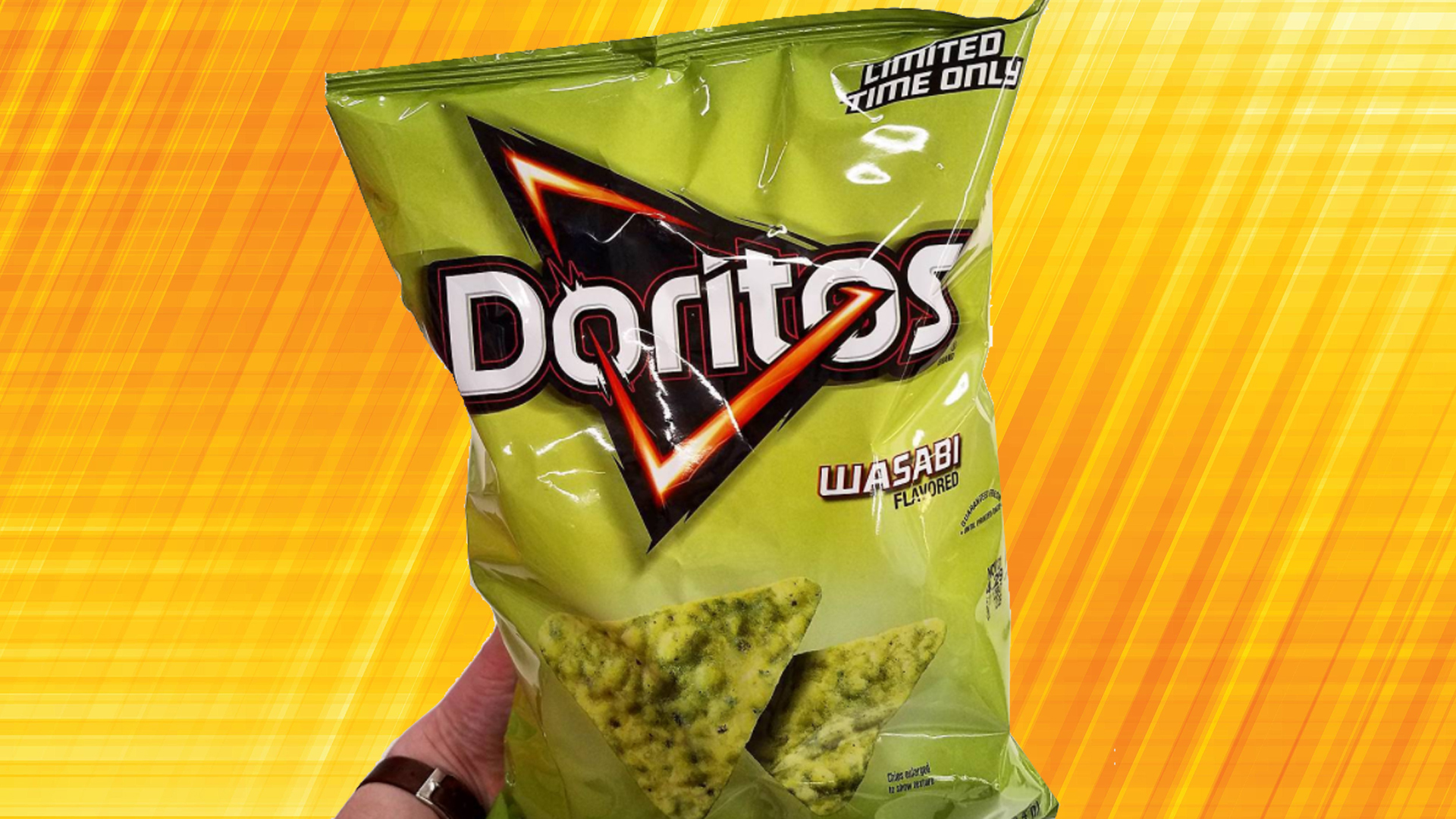 Wasabi Dorito Chips Are Now Available For A Limited Time