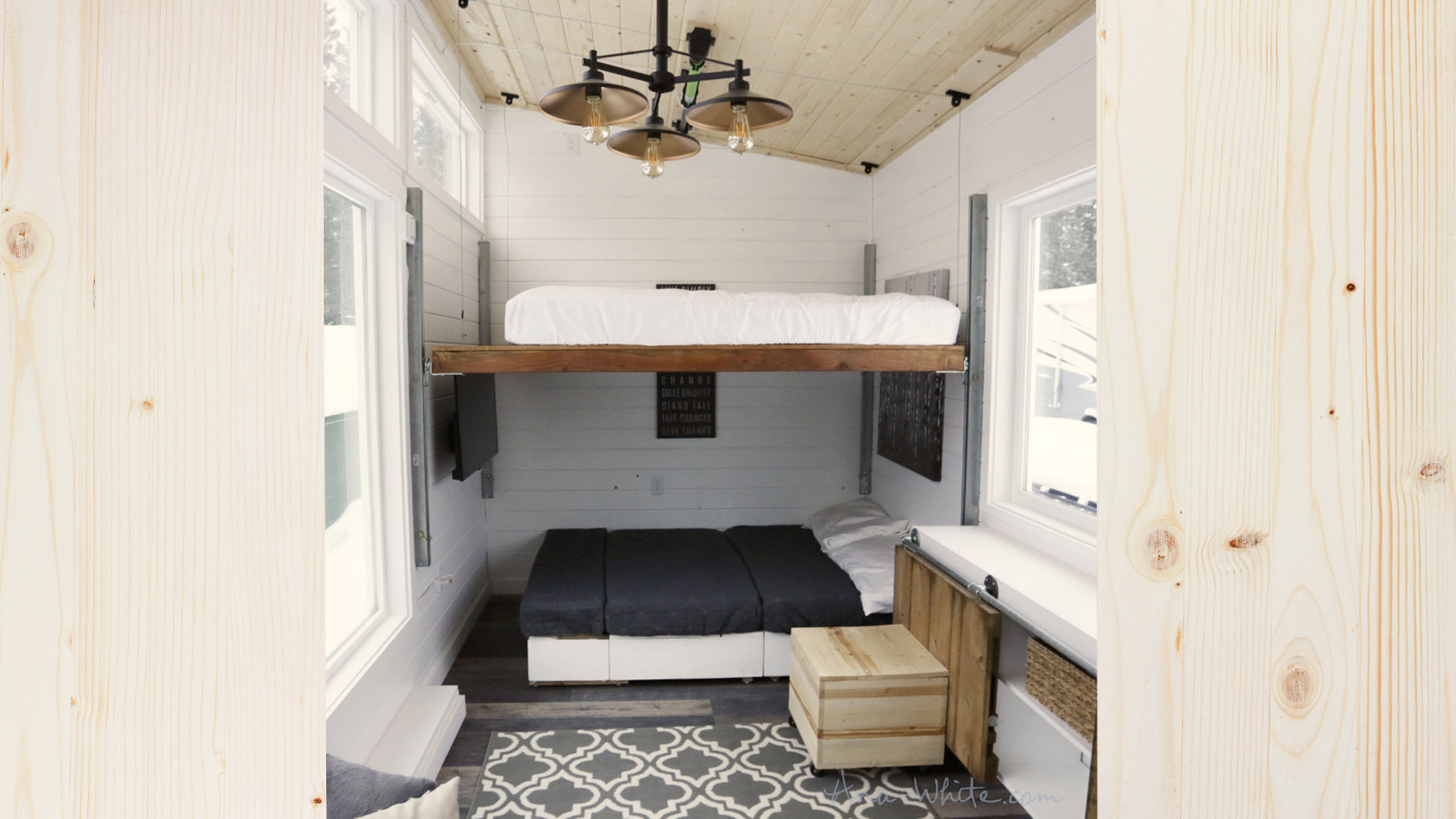 Tiny Home With Elevator Lift Solves This Common Problem