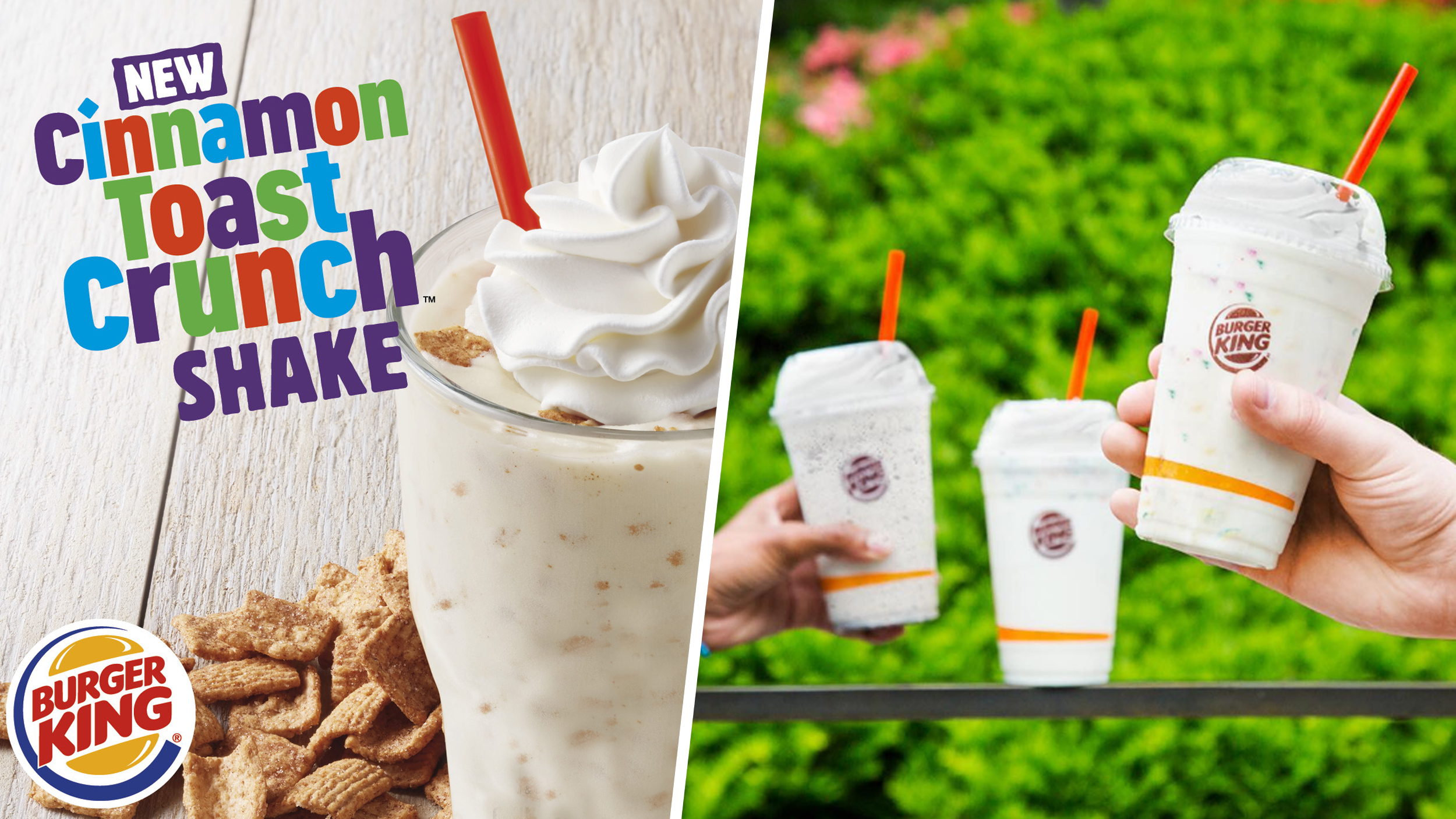 Burger king releases cinnamon toast crunch milkshake today ccuart Image collections