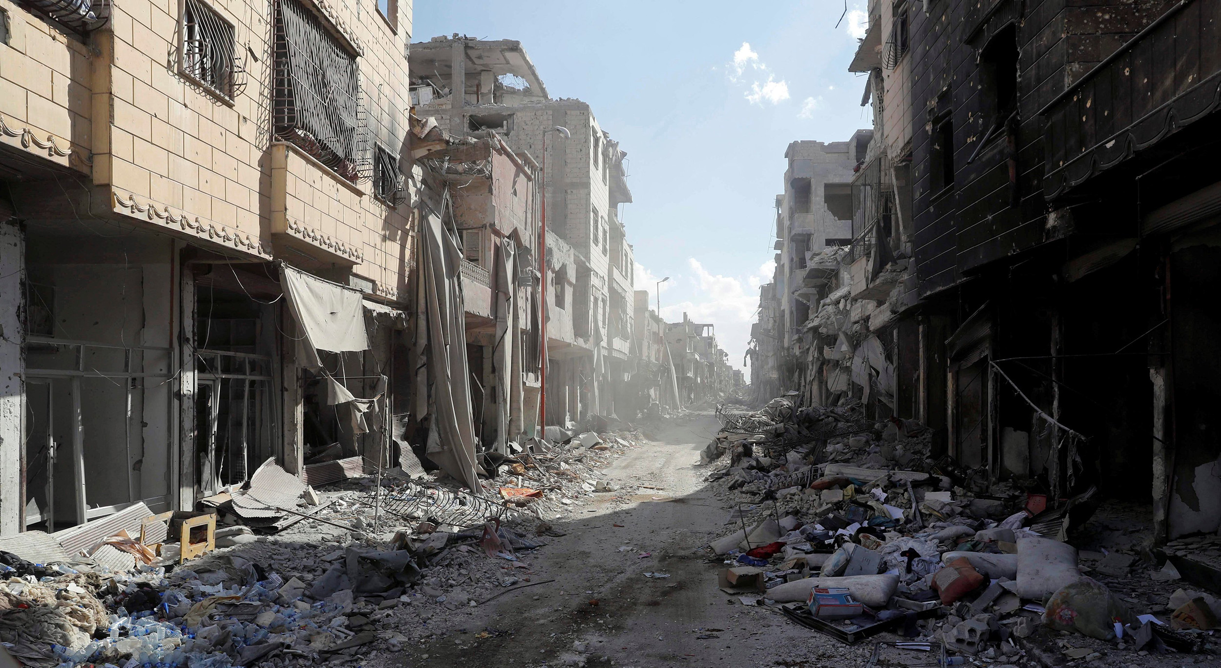 Image: A view of Raqqa's Old City