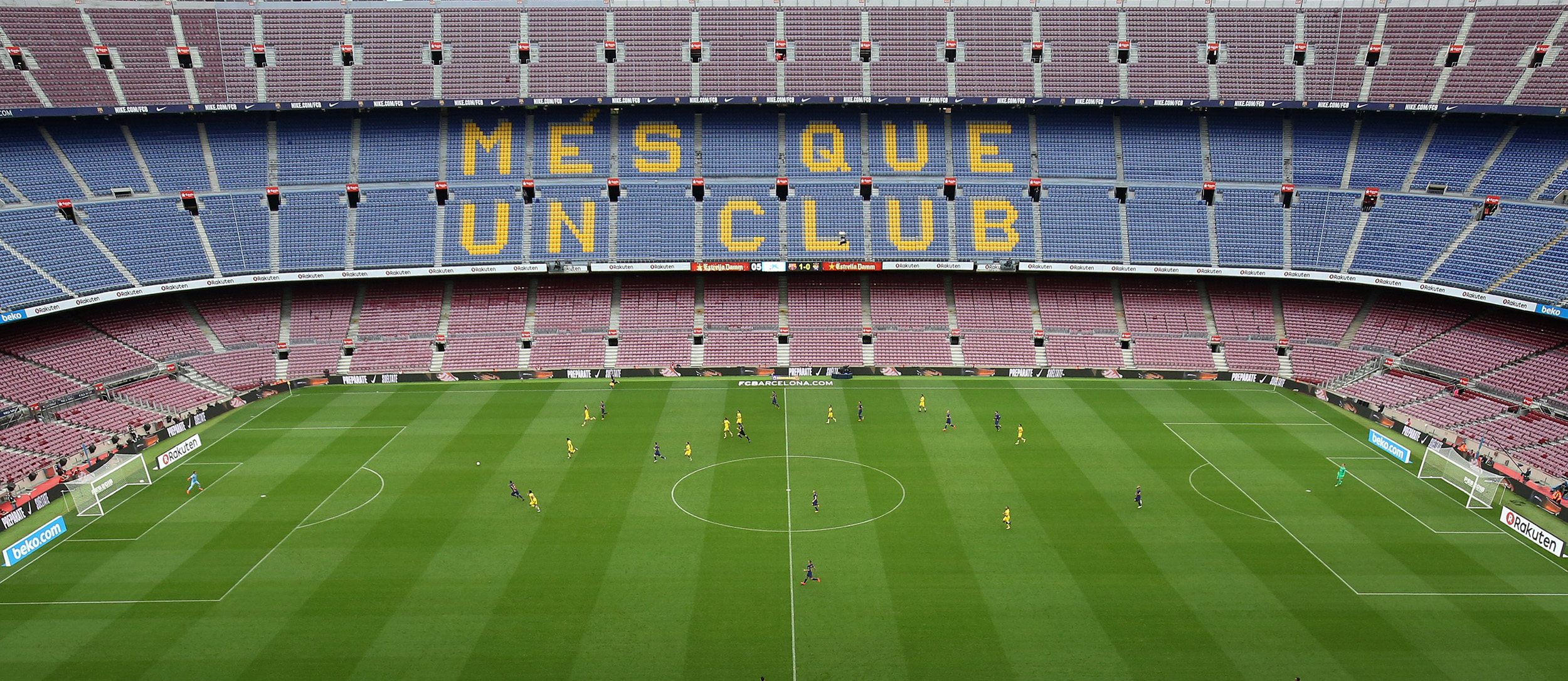 How Spain S Crisis Over Catalonian Independence Plays Out On The Soccer Field