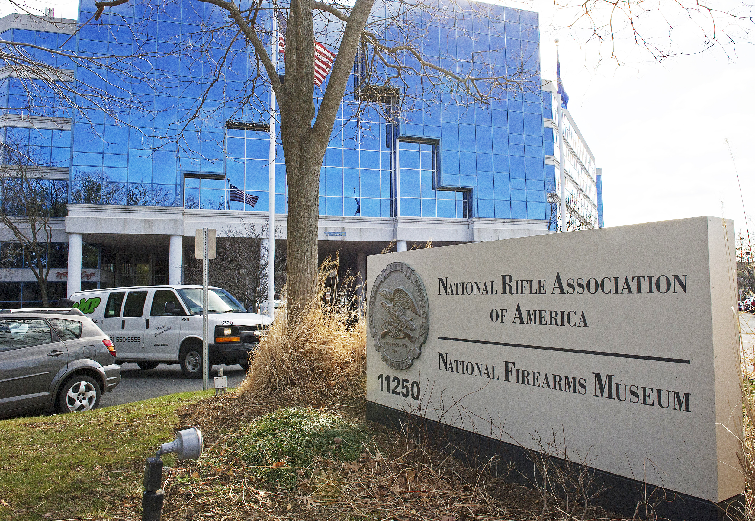 Image: The National Rifle Association (NRA) headquarters