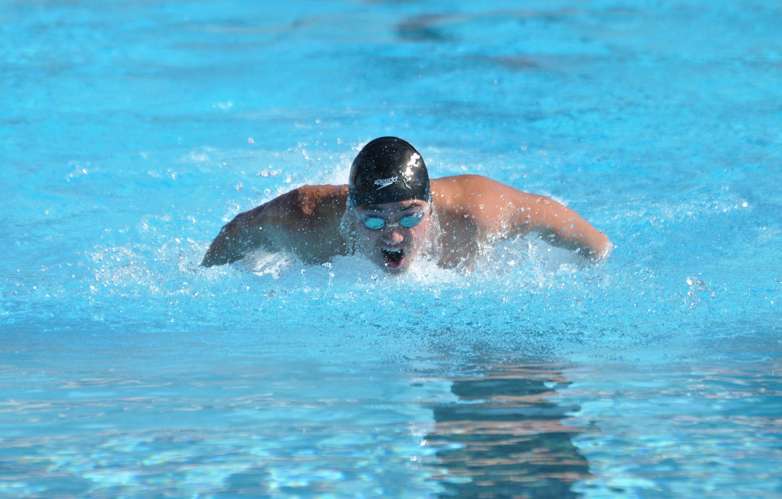 Image: Harvard transgender swimmer Schuyler Bailar
