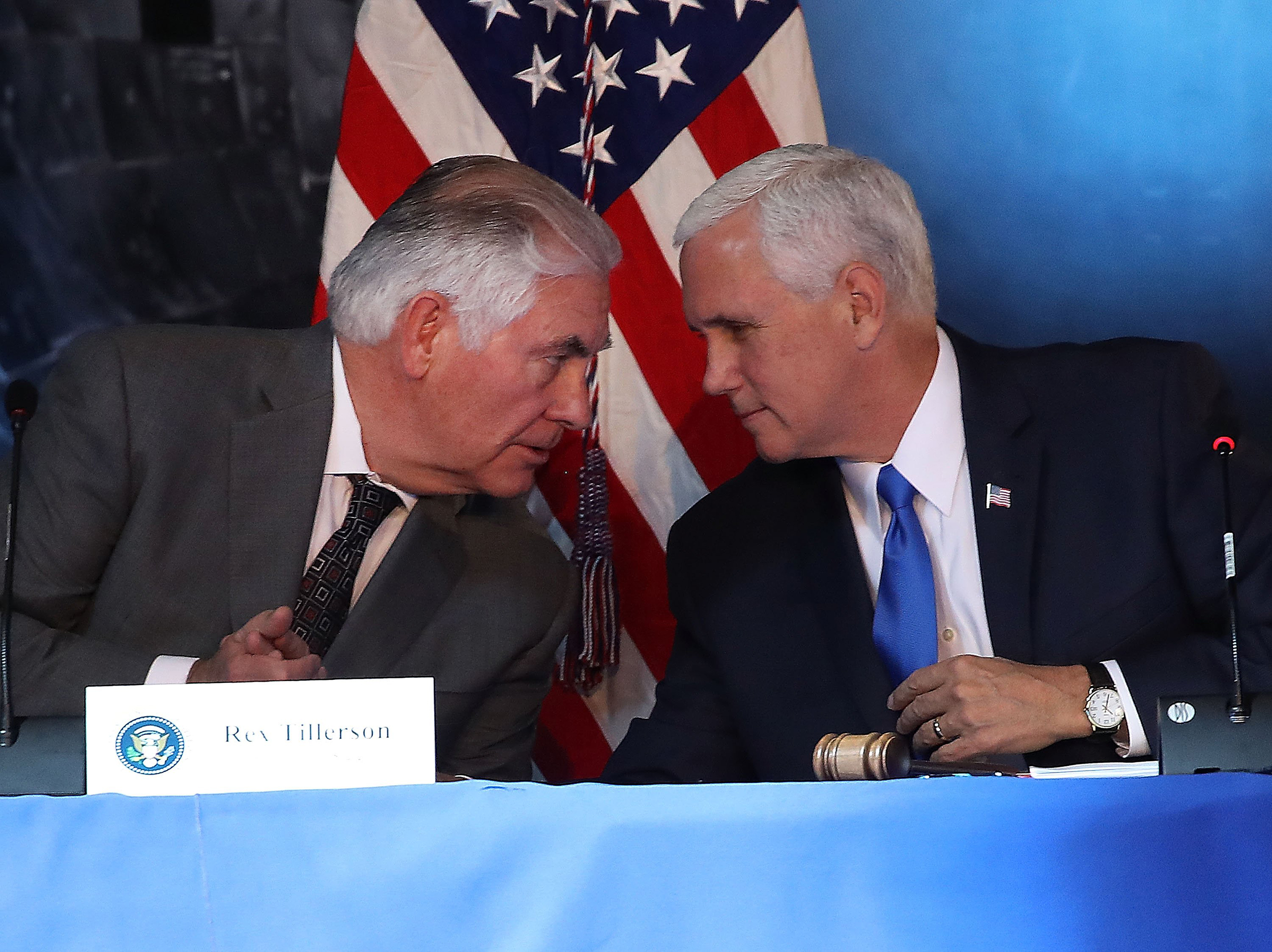Image: VP Mike Pence convenes First-Ever Meeting Of National Space Council
