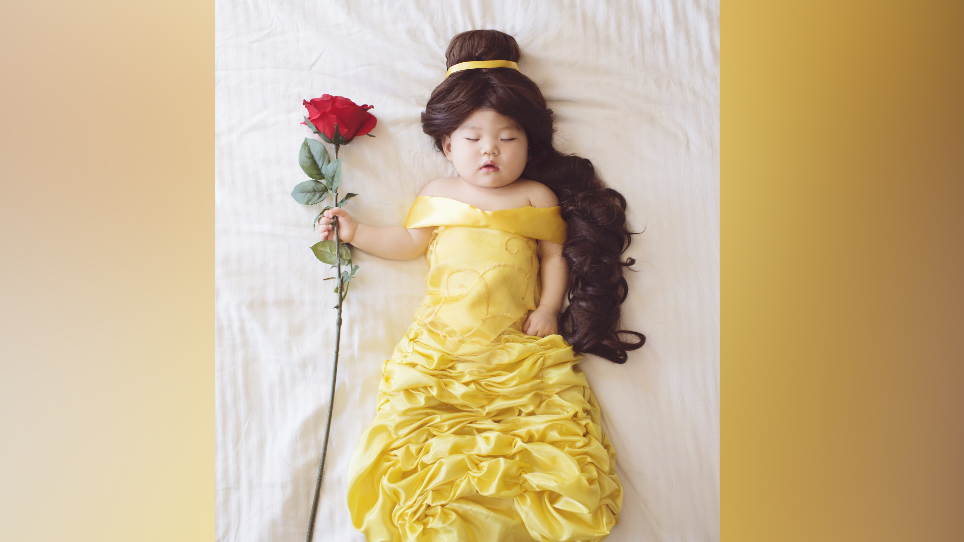 Mom Creates Photo Book Showing Nap Time Images Of Daughter