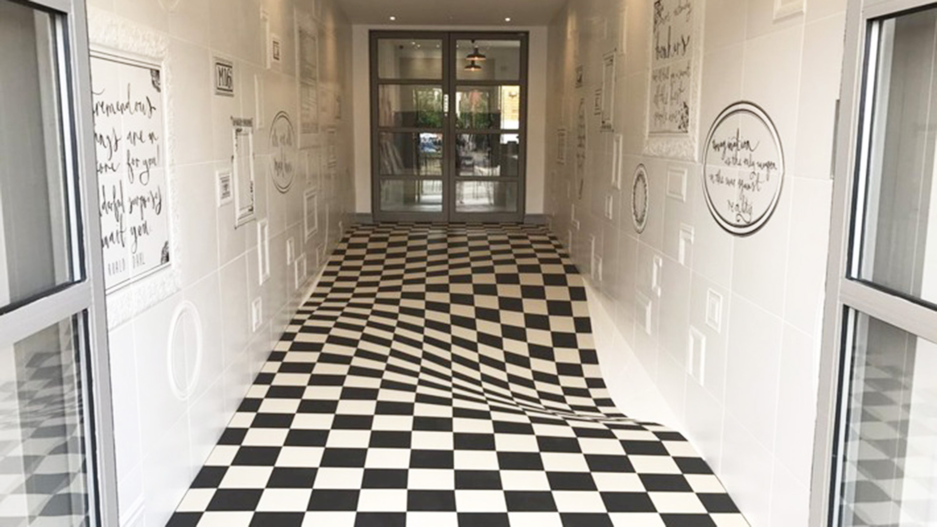 This tile company\'s floor is a wild optical illusion - TODAY.com