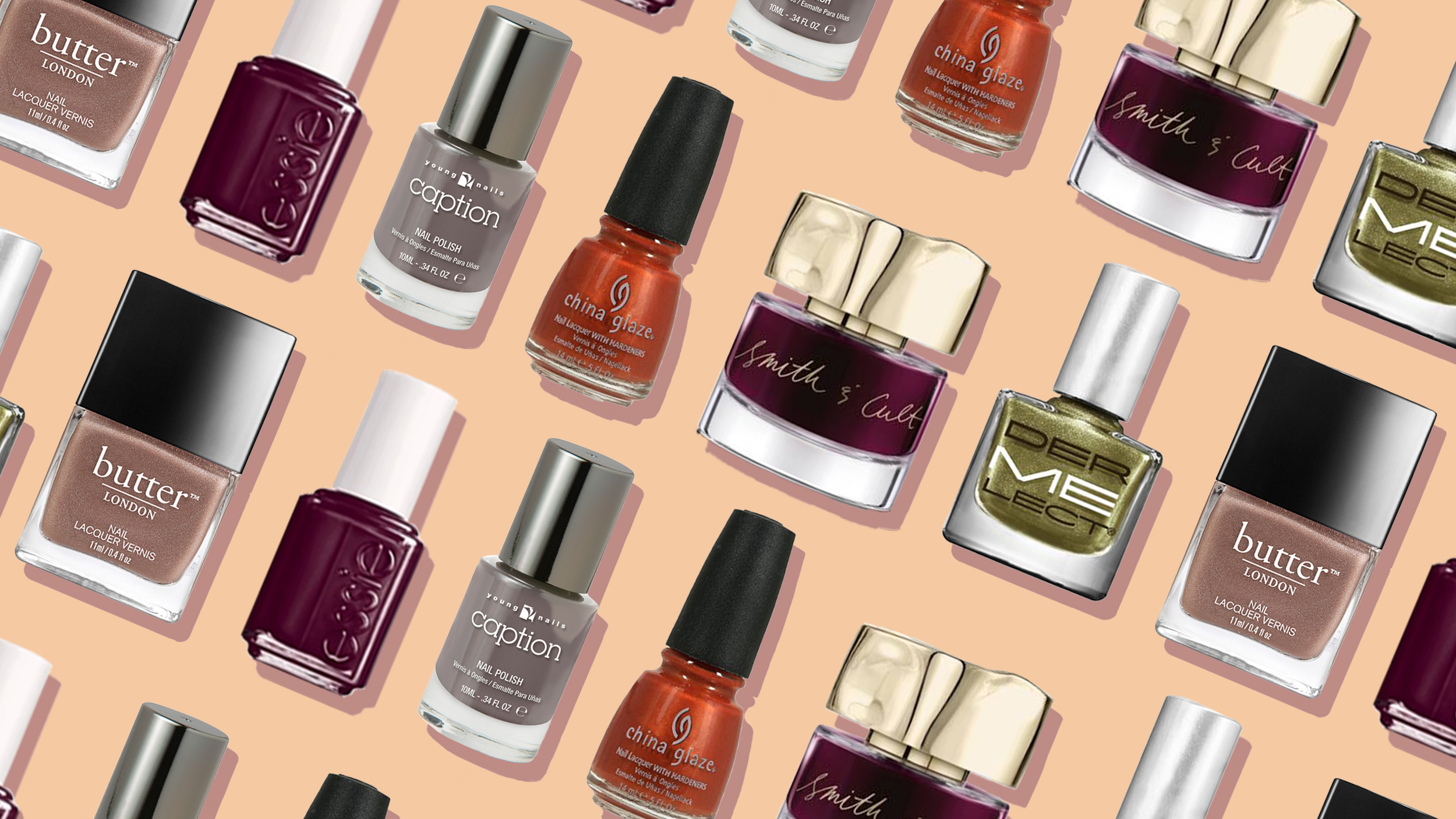 Best nail colors for fall: Essie, Butter London, Smith & Cult