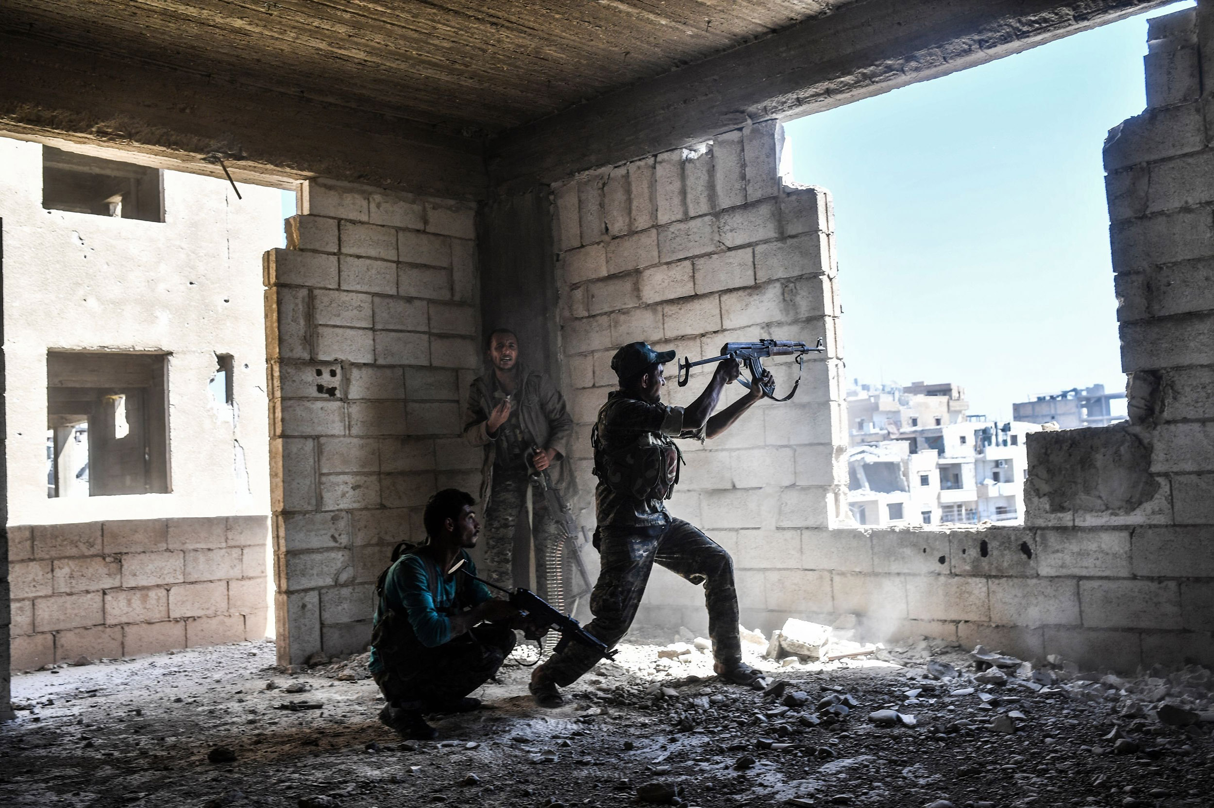 Image: Battle for Raqqa