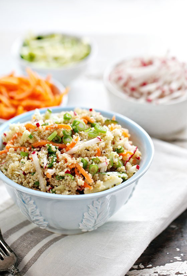 Image: Quinoa and Veggies Lunchbox Power Salad