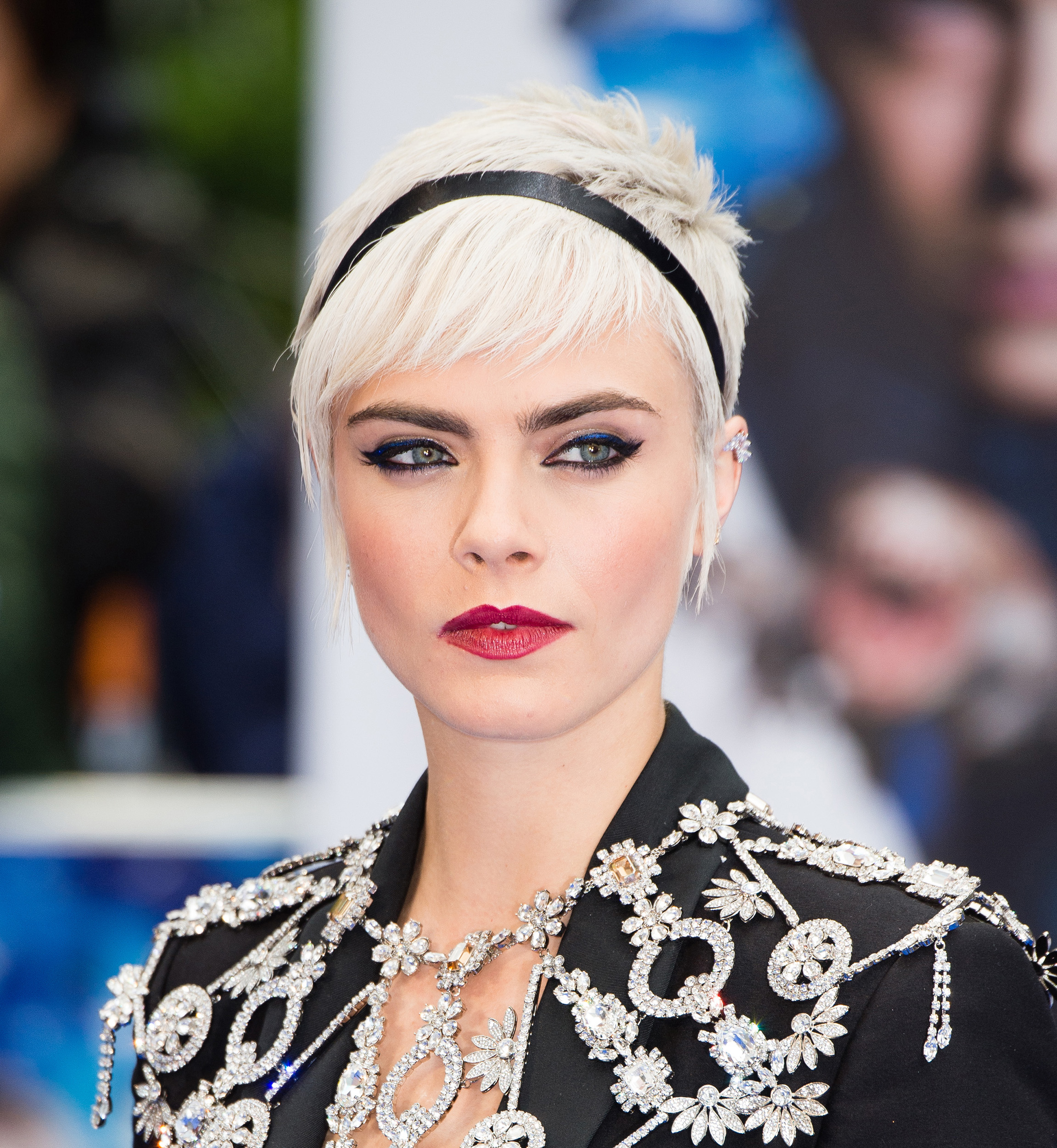 Image: Cara Delevingne attends the
