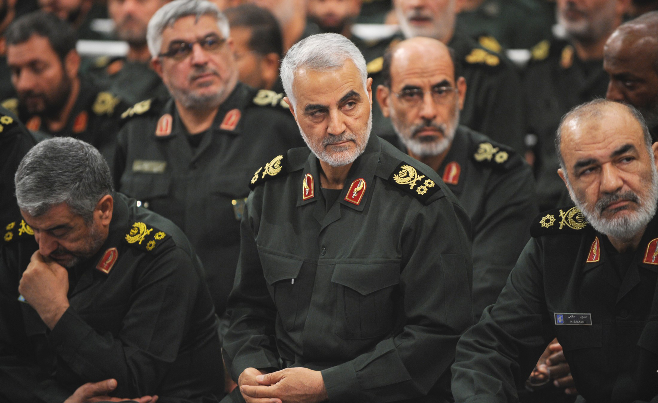Image: Iranian Quds Force commander Qassem Soleimani