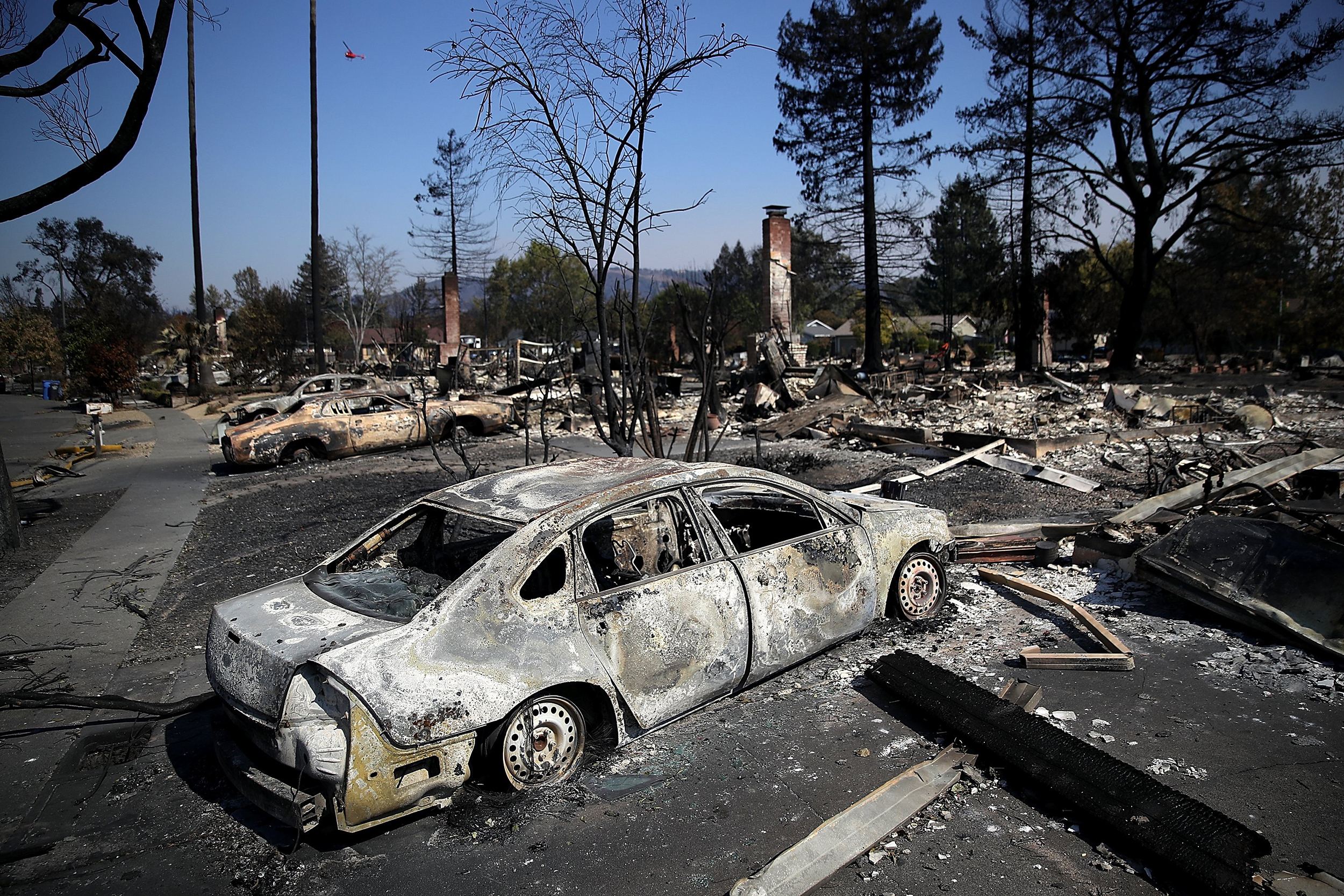 Death Toll in California Fires Rises to 31, Hundreds Missing