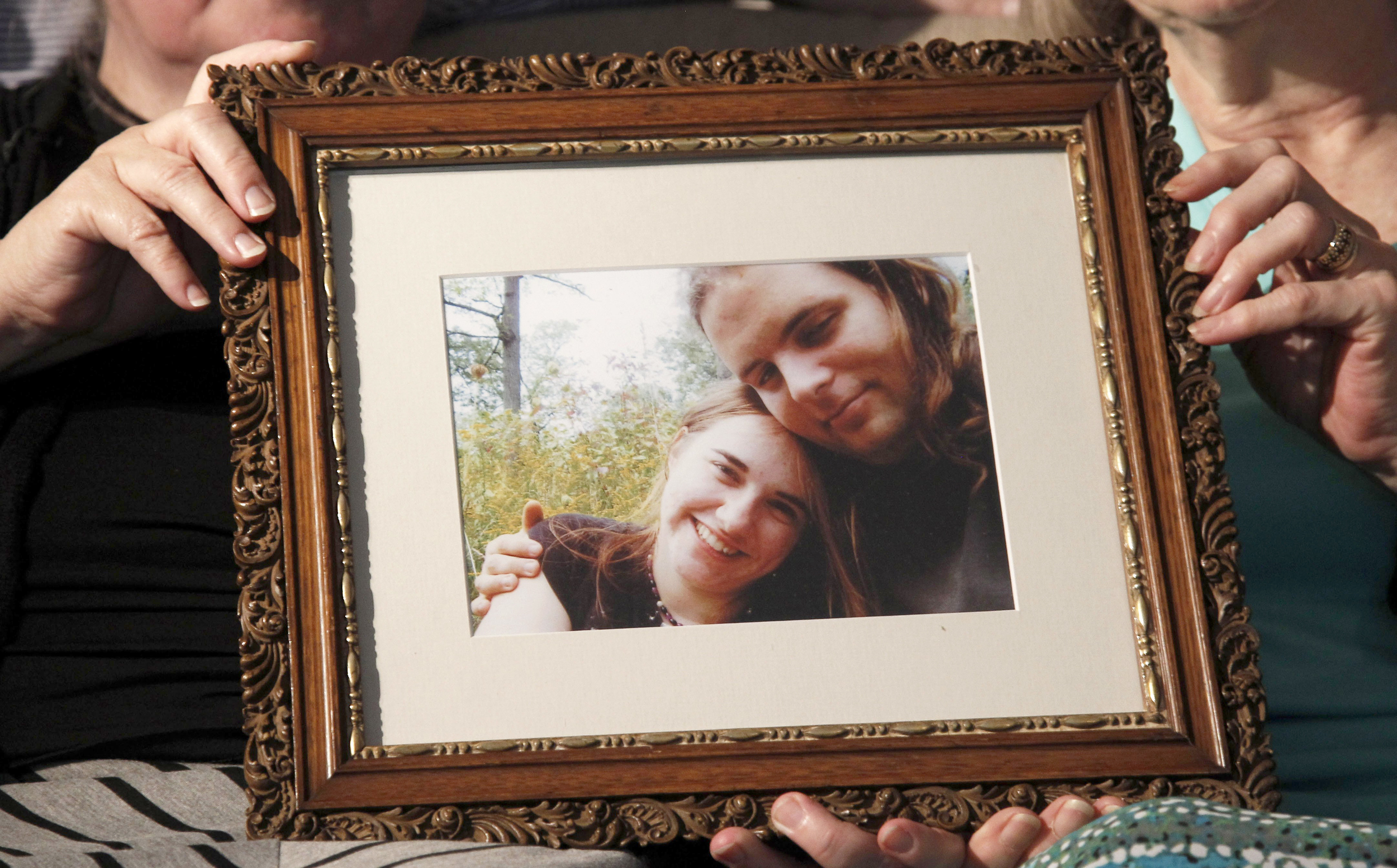 Image: A photo showing Caitlan Coleman and Joshua Boyle