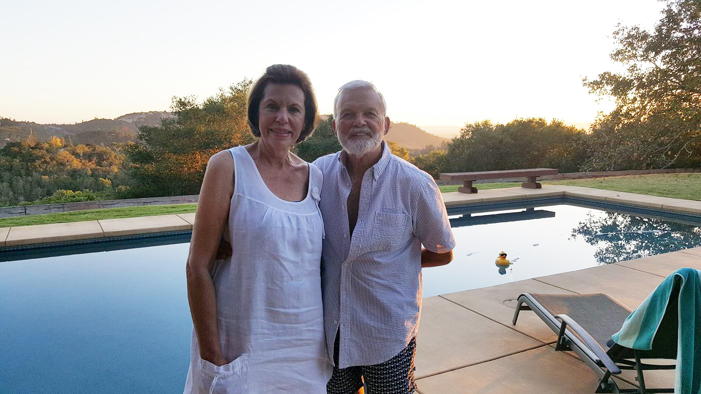 98409ac717 Couple Married 55 Years Jump in Pool to Survive California Fire; She Dies  in His Arms