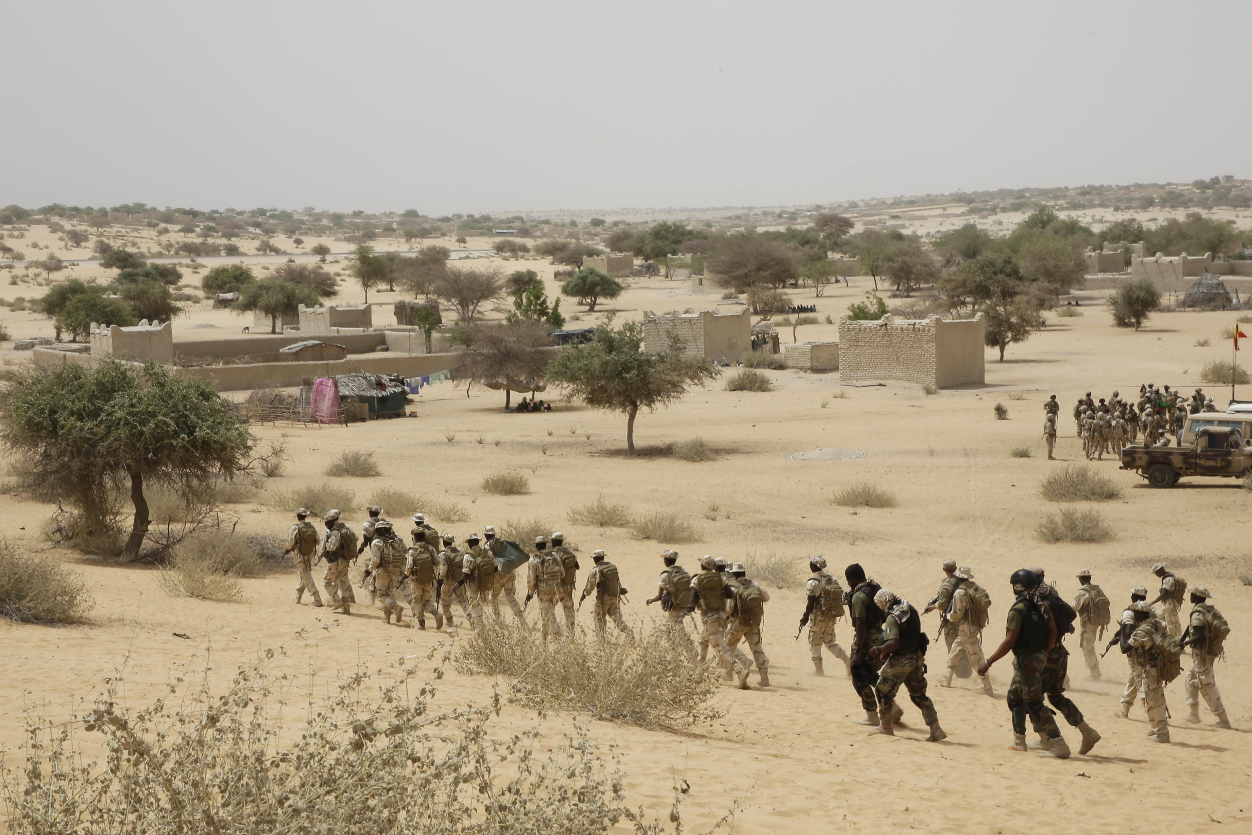 Image: Military exercises in Chad