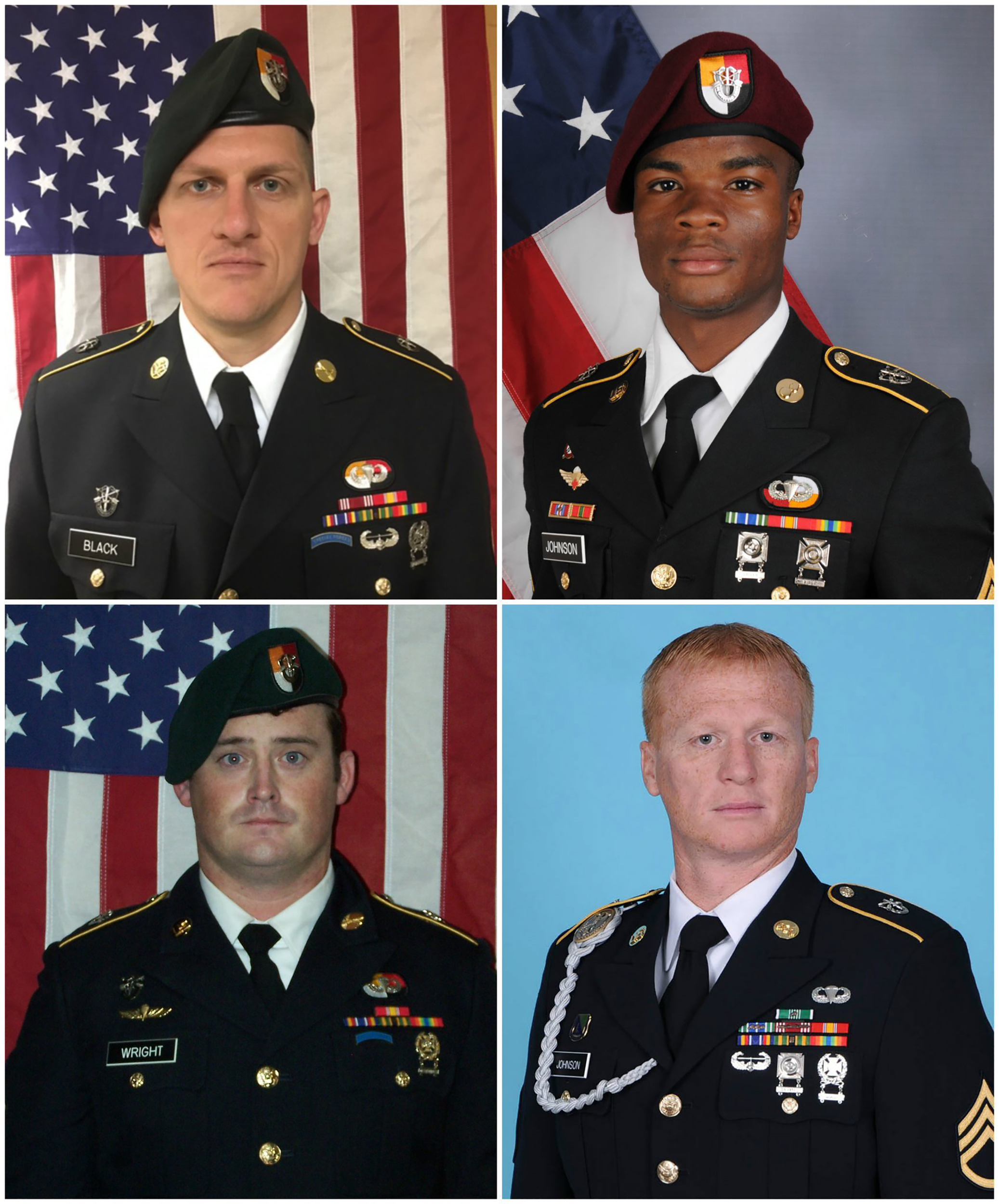Image: Four US soldiers killed in Niger attack