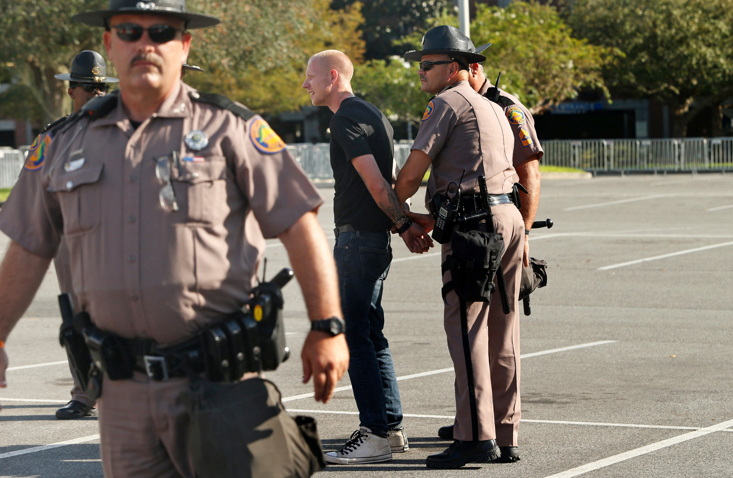 Image: Tensions High As Alt-Right Activist Richard Spencer Visits U. Florida Campus