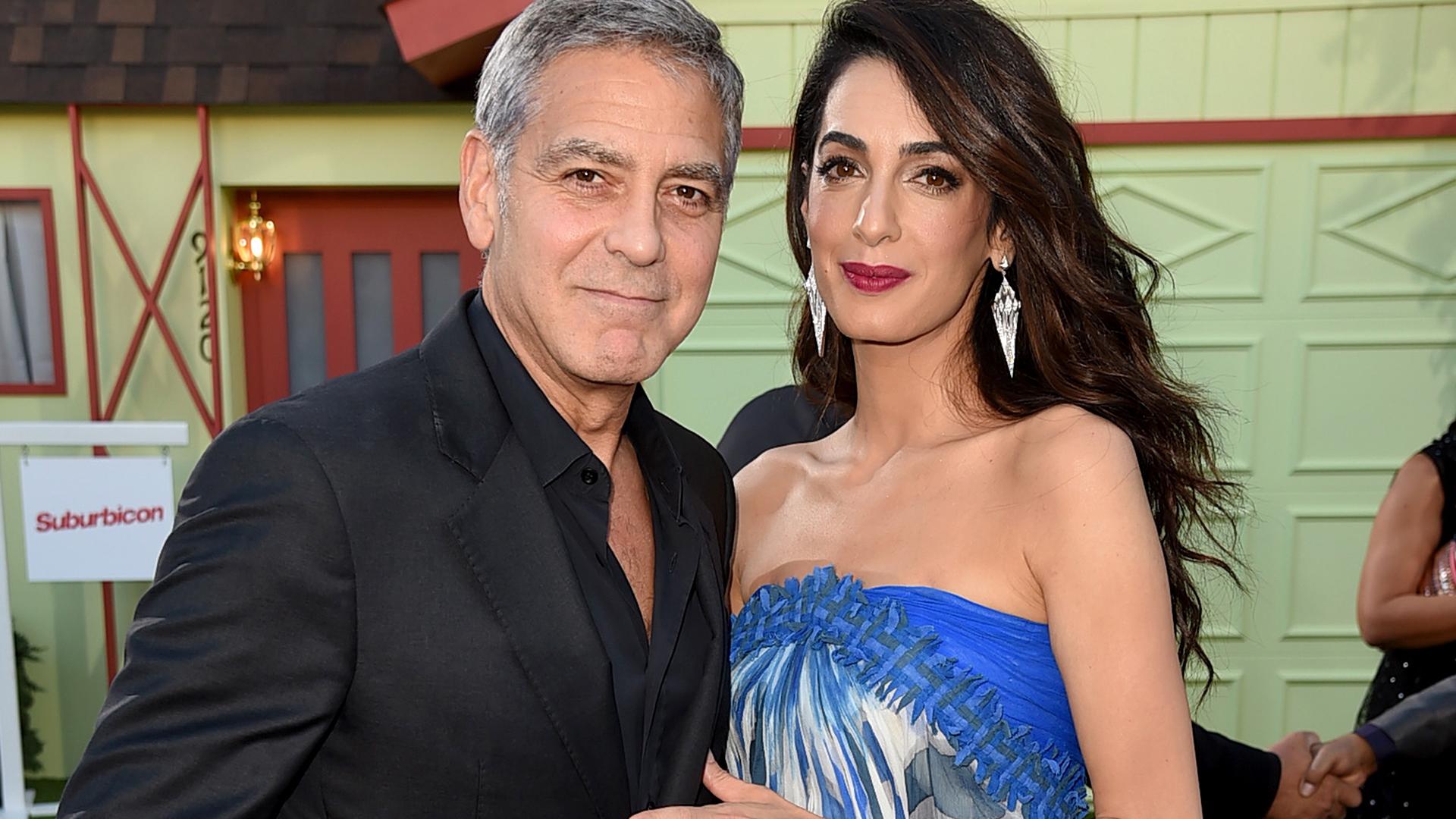 George Clooney talks twins, reveals Ella looks just like Amal