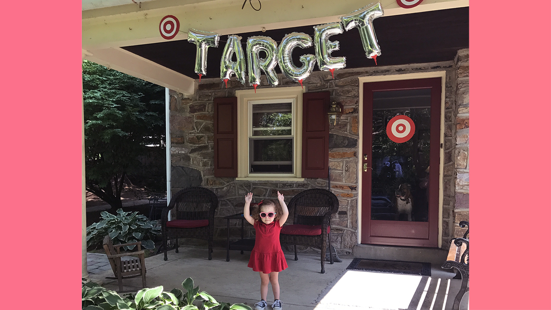 Mom plans amazing Targetthemed birthday party for daughter TODAYcom