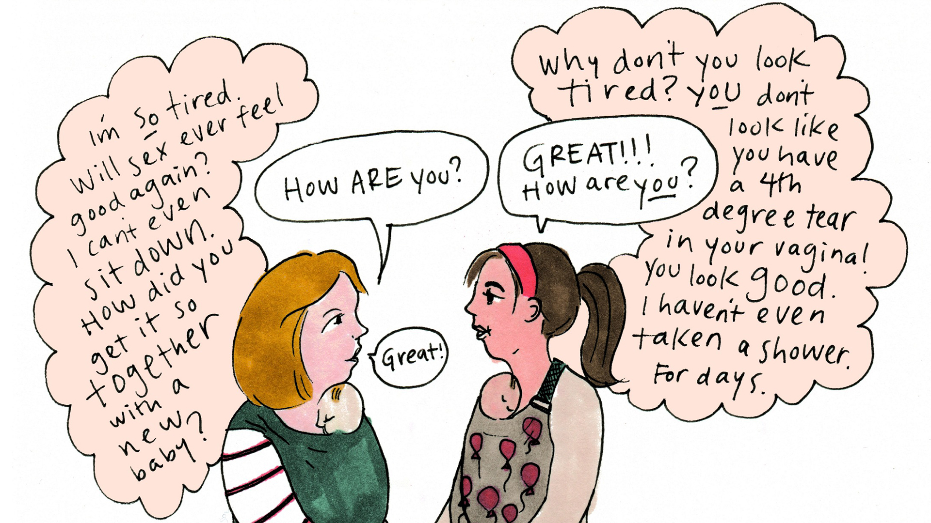 Speakthesecret Campaign Gives Postpartum Depression A