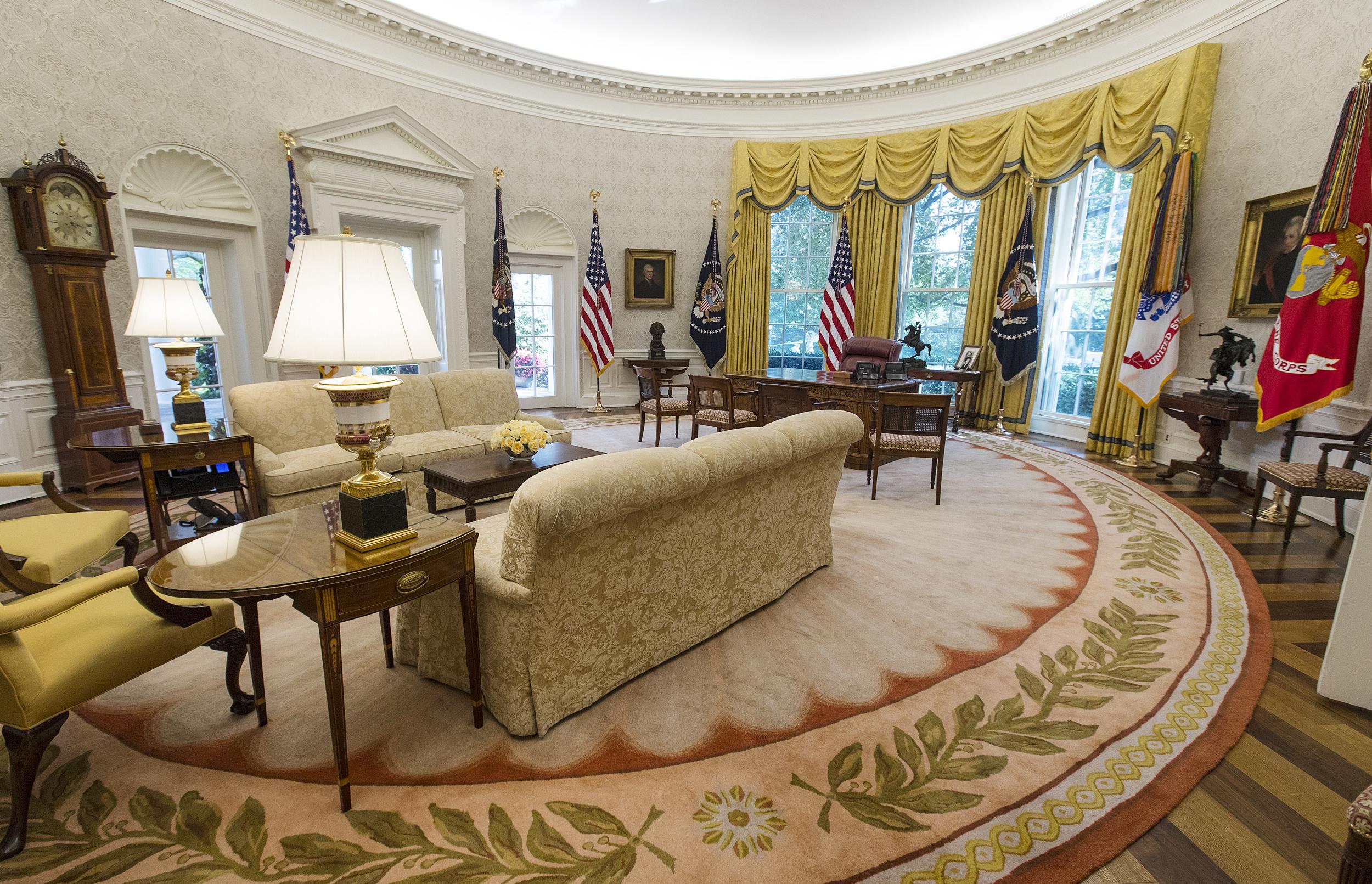 Trump spending $1.75 million on presidential furniture redecorations