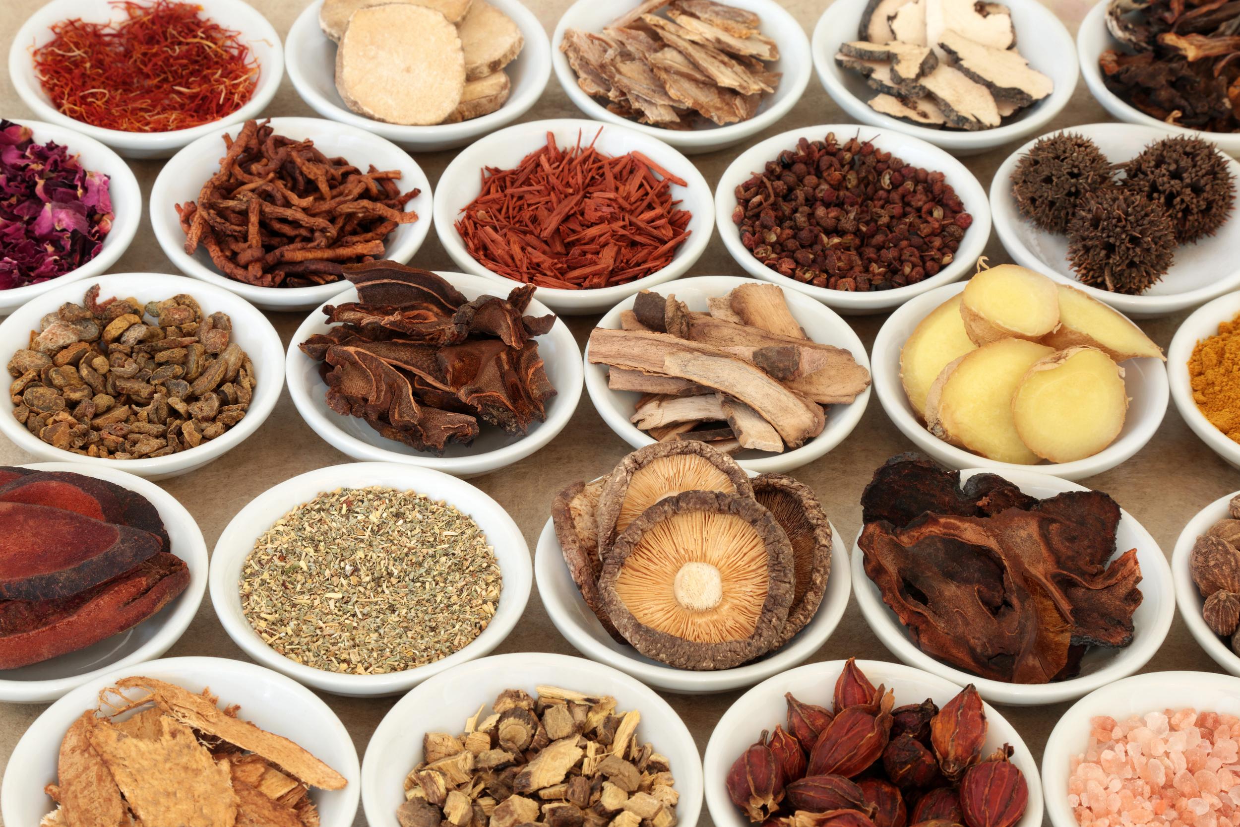Image: Chinese herbal medicine