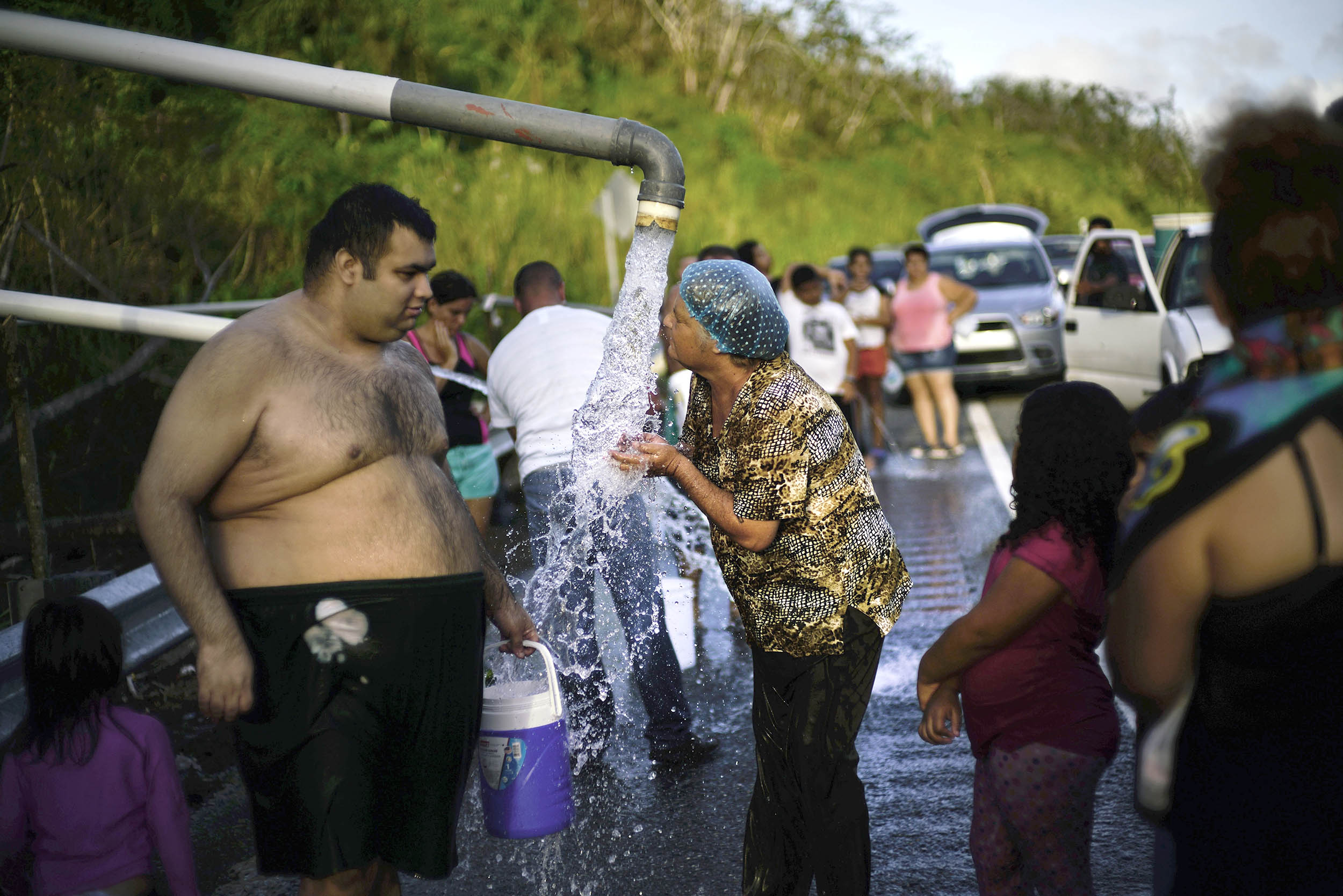 Image: Water Shortage in Puerto Rico