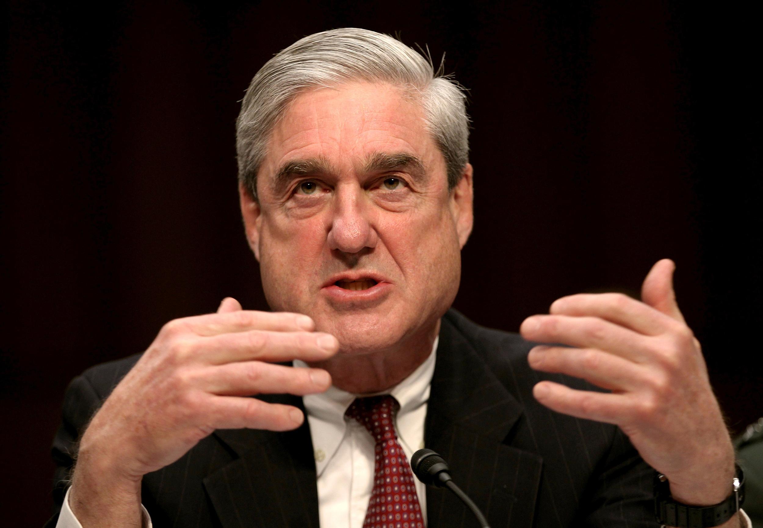 Image: FBI Director Robert Mueller Testifies at a Senate Intelligence Committee hearing on Capitol Hill