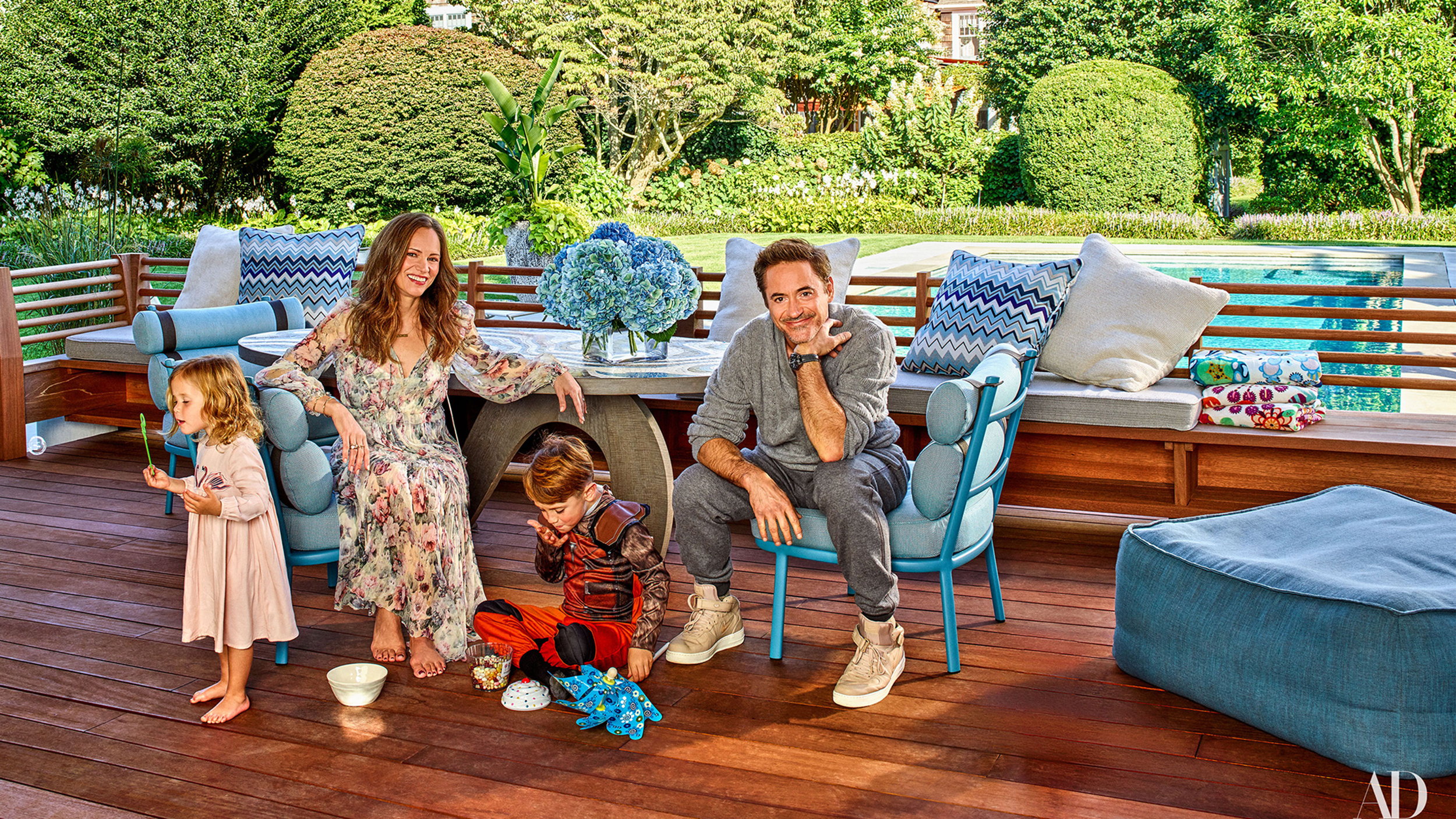 Robert Downey Jr Hamptons Home In Architectural Digest