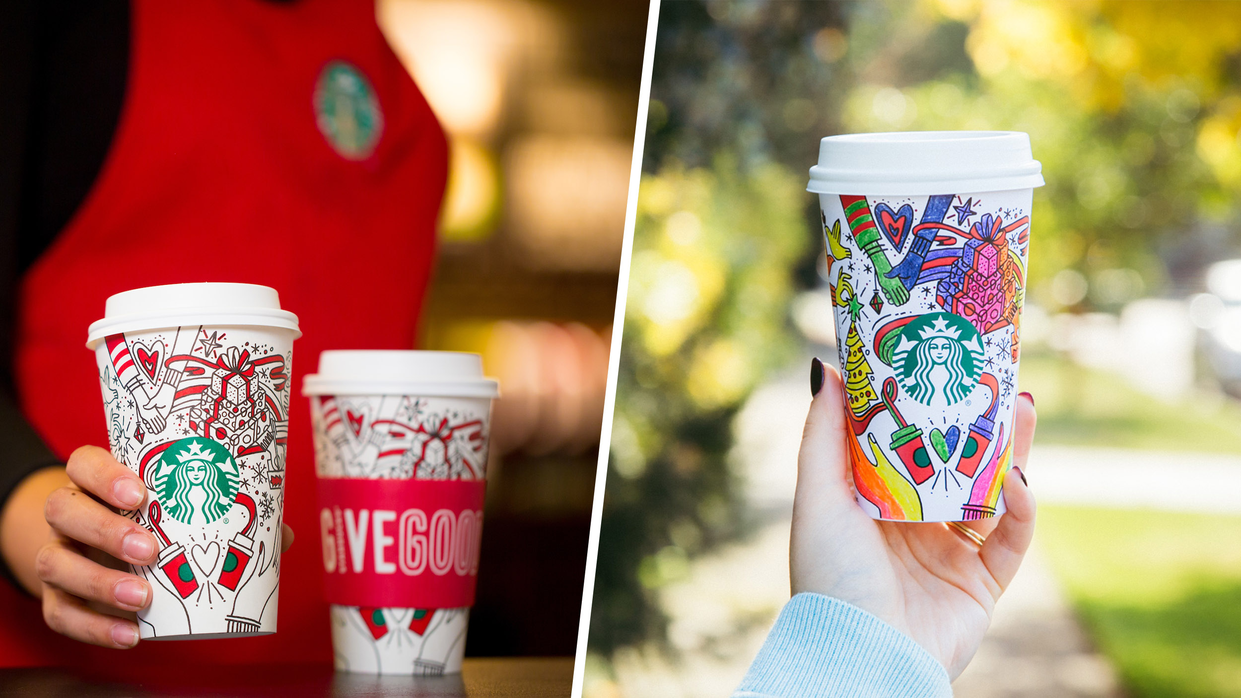 Starbucks Christmas Coffee Cups.Starbucks New Holidays Cups Are Out