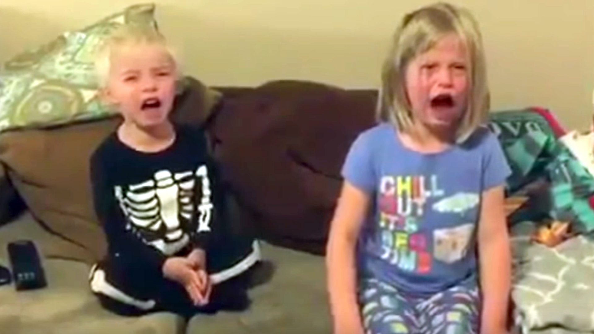 jimmy kimmel's halloween candy prank has kids crying, cursing and