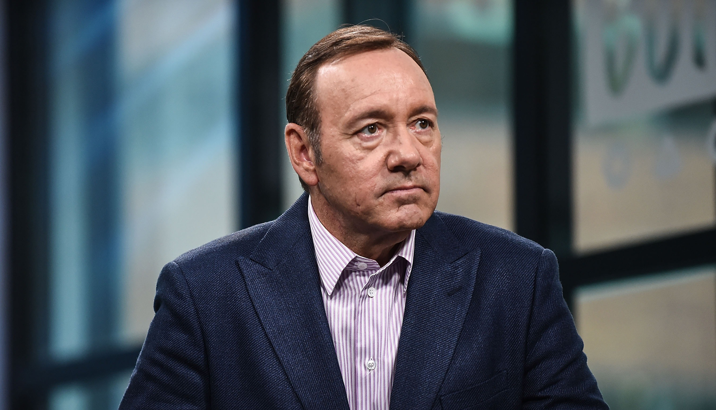 Image: Kevin Spacey attends the Build Series to discuss his new play