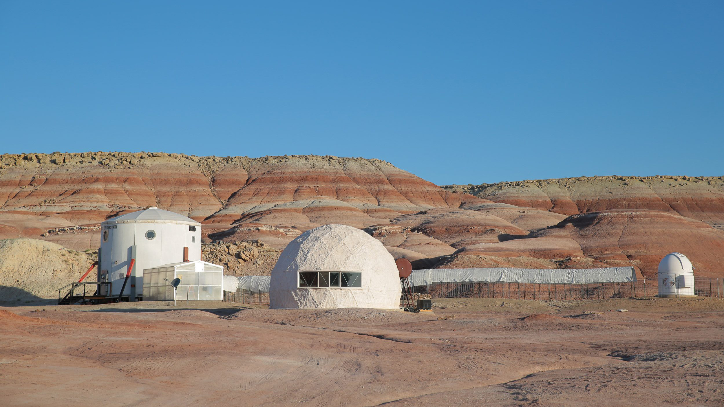 Image: An IKEA team spent three days at the Mars Desert Research Station in Utah