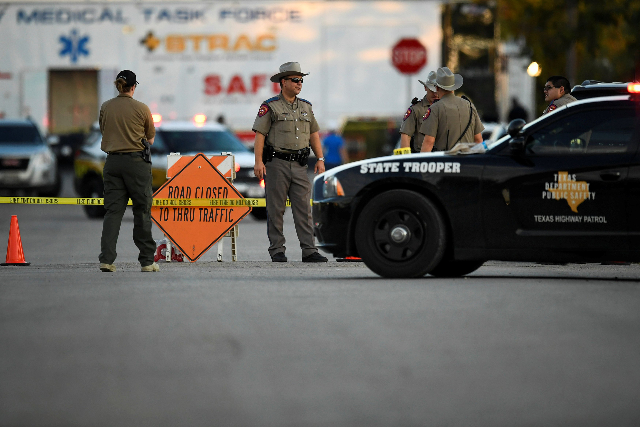 Image: Mass Shooting in Texas