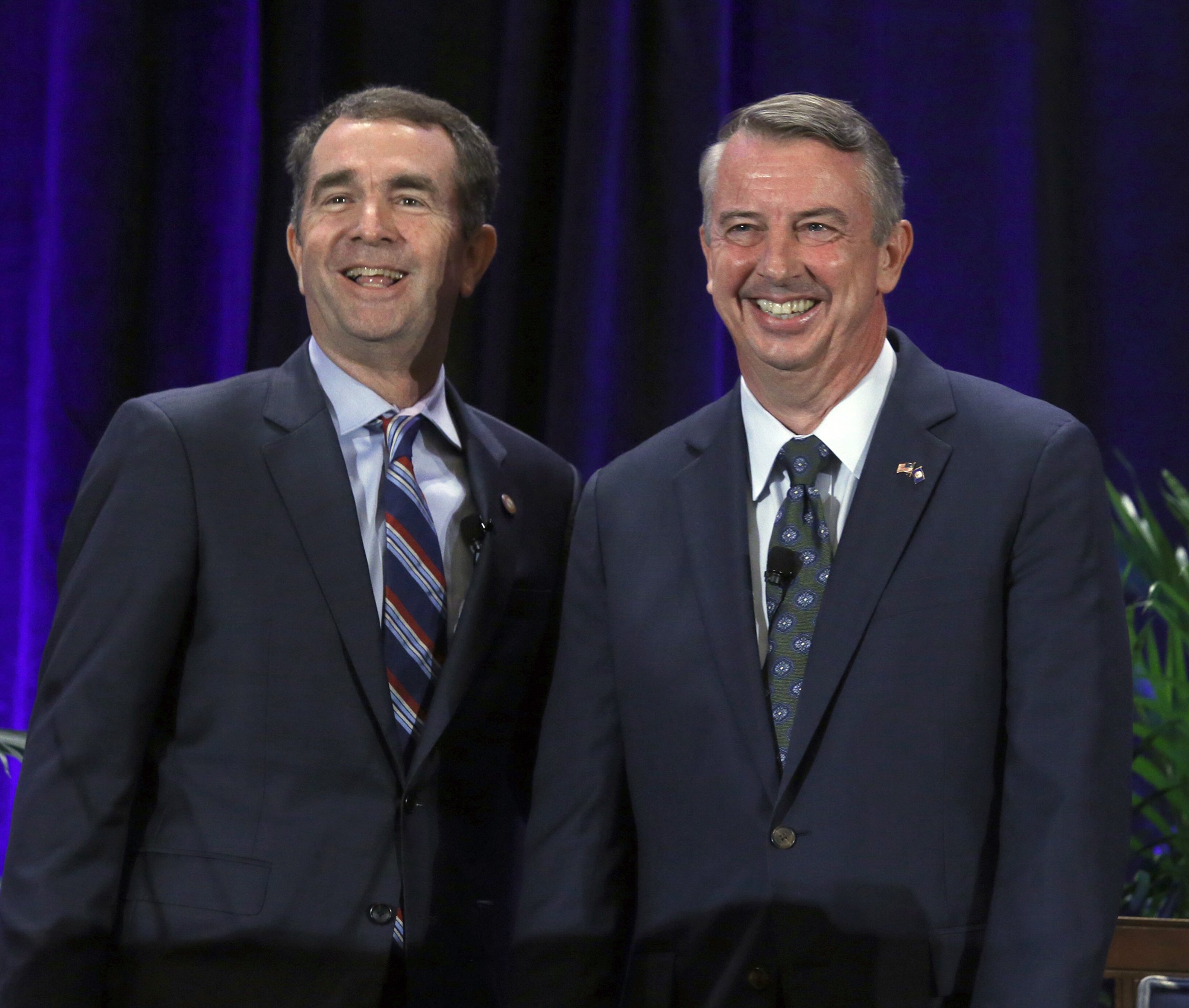 Image: Ralph Northam and Ed Gillespie