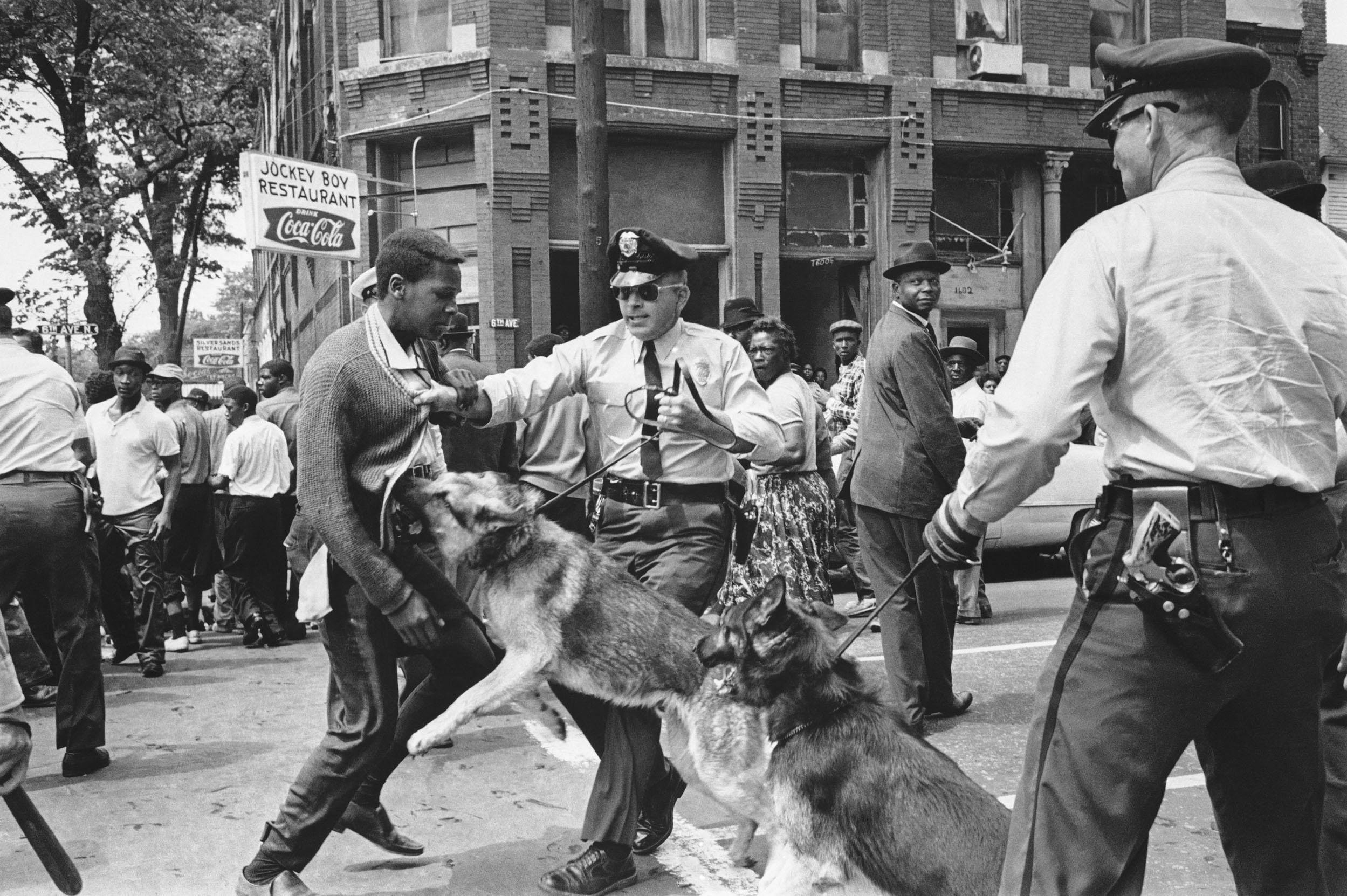 Image: Birmingham Protest