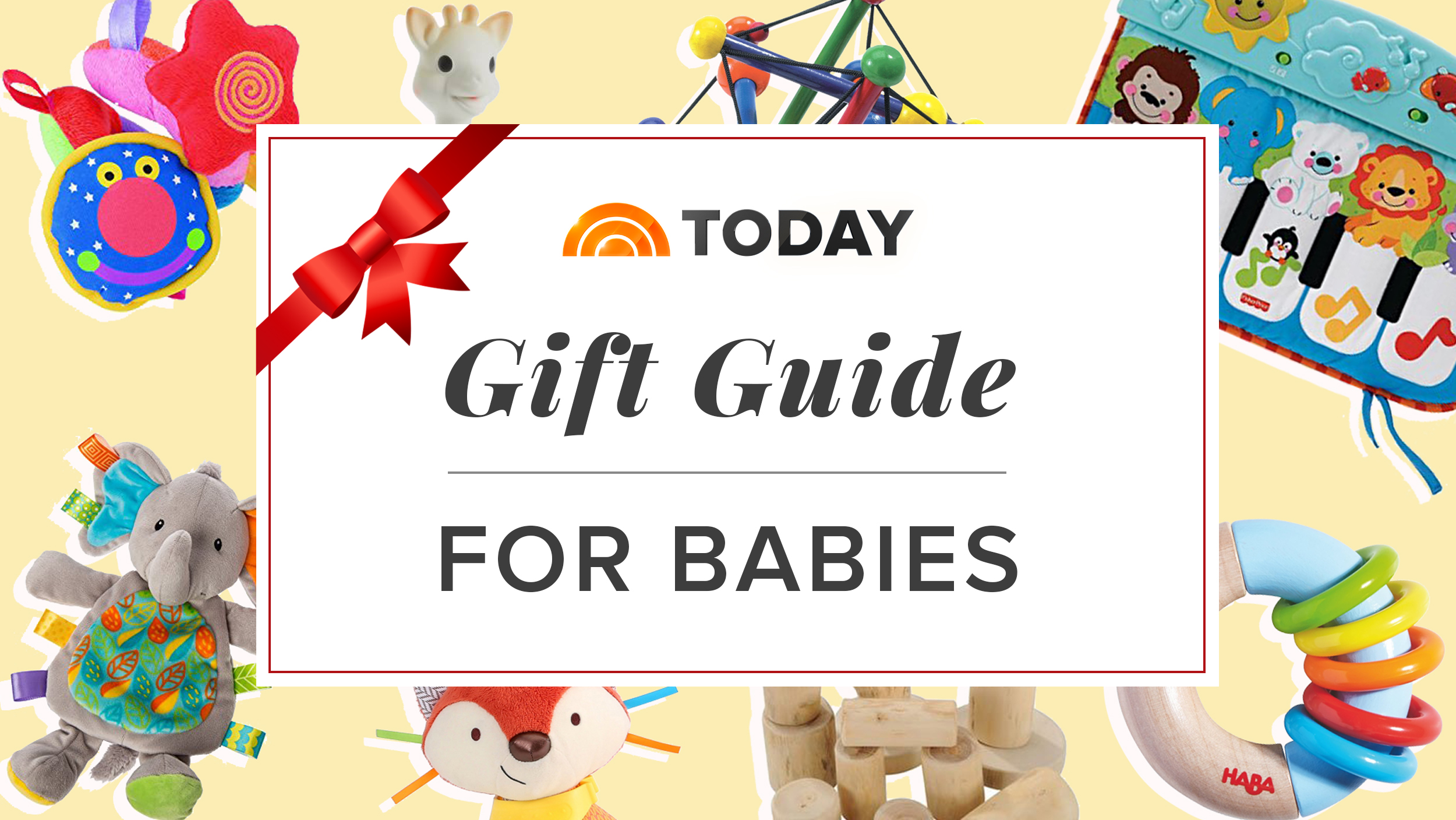 The Best Gifts For Babies From Our 2017 Holiday Gift Guide