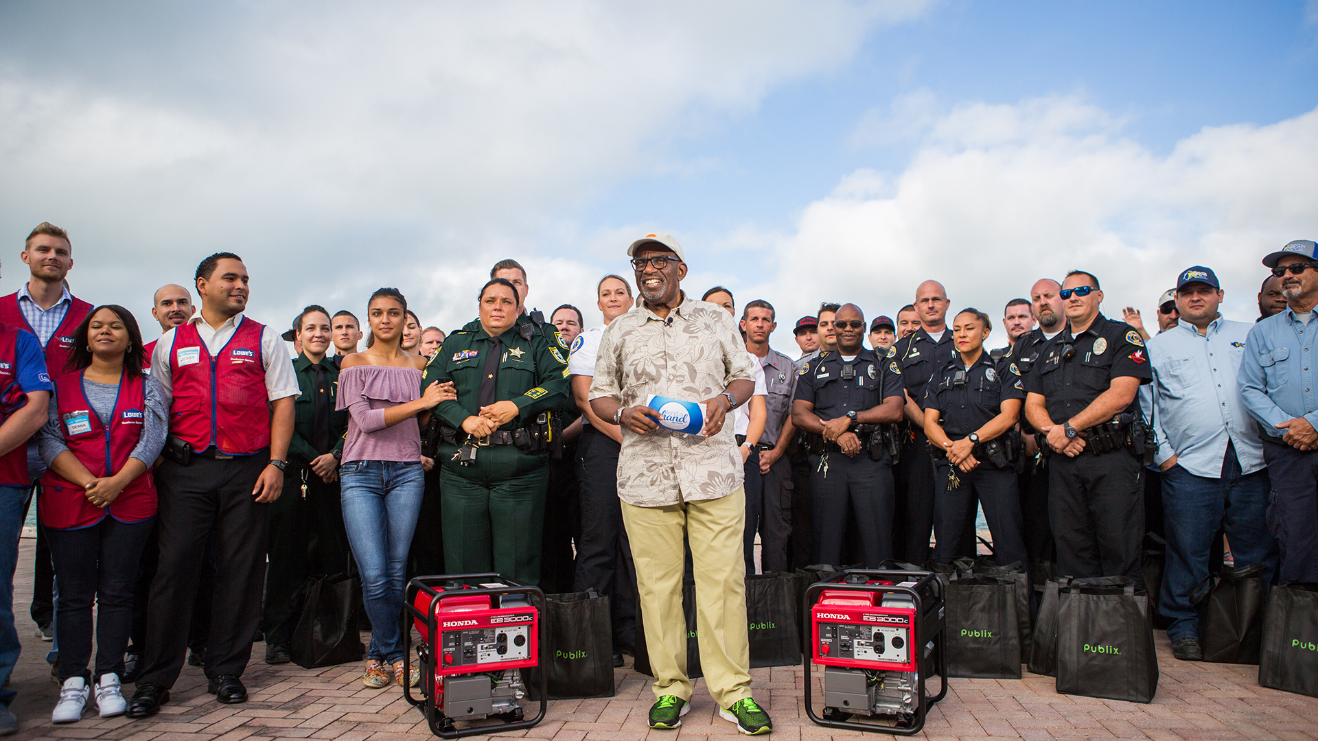 Lend a Hand: Al Roker honors Hurricane Irma first responders in Key West