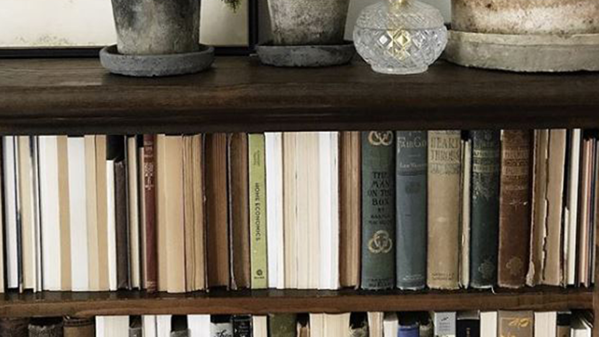 Backward Books On Shelves Is A Controversial Home Decor