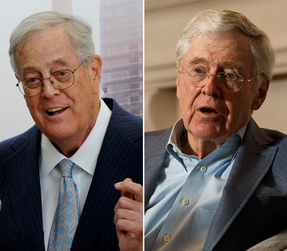 Image: Koch brothers