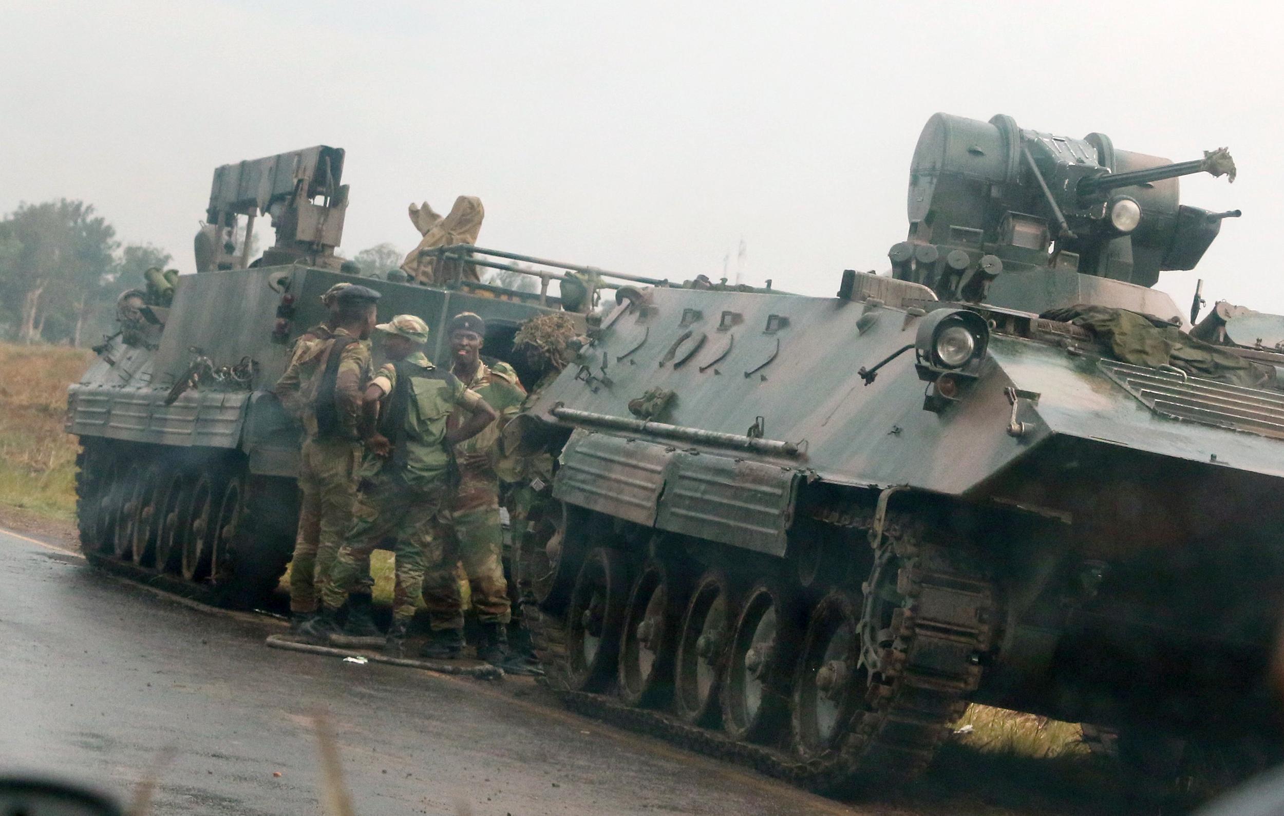 Zimbabwe-Army-Controls-Broadcaster,-Says-Mugabe-Is-Safe