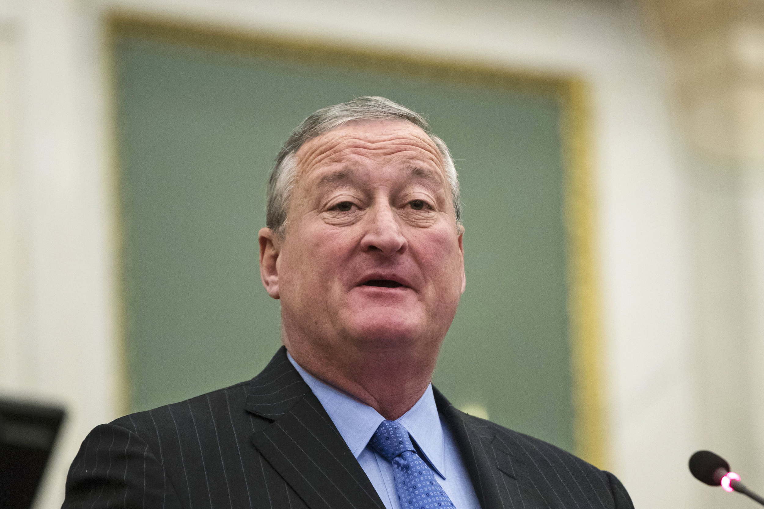 Image: Philadelphia Mayor Jim Kenney