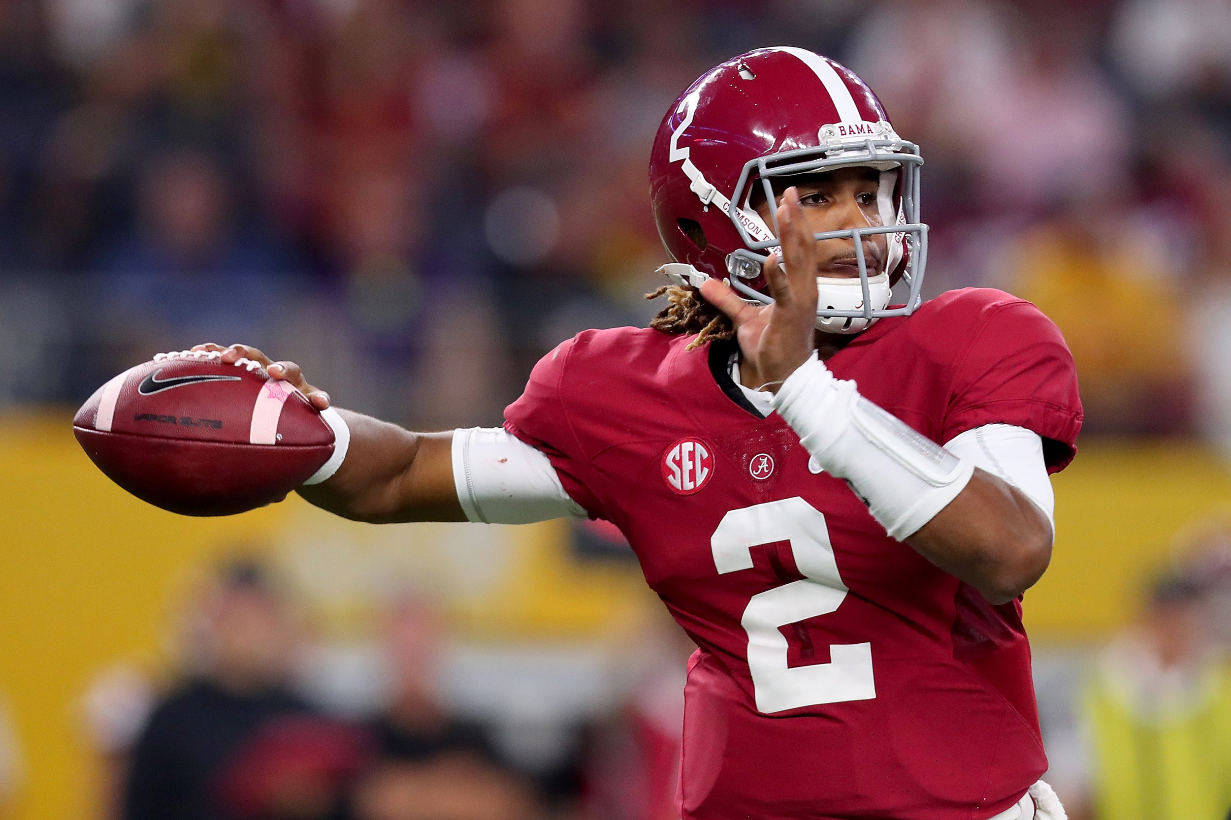 reputable site 6de71 b7d8e College Football Playoff: Six things about Tide quarterback ...