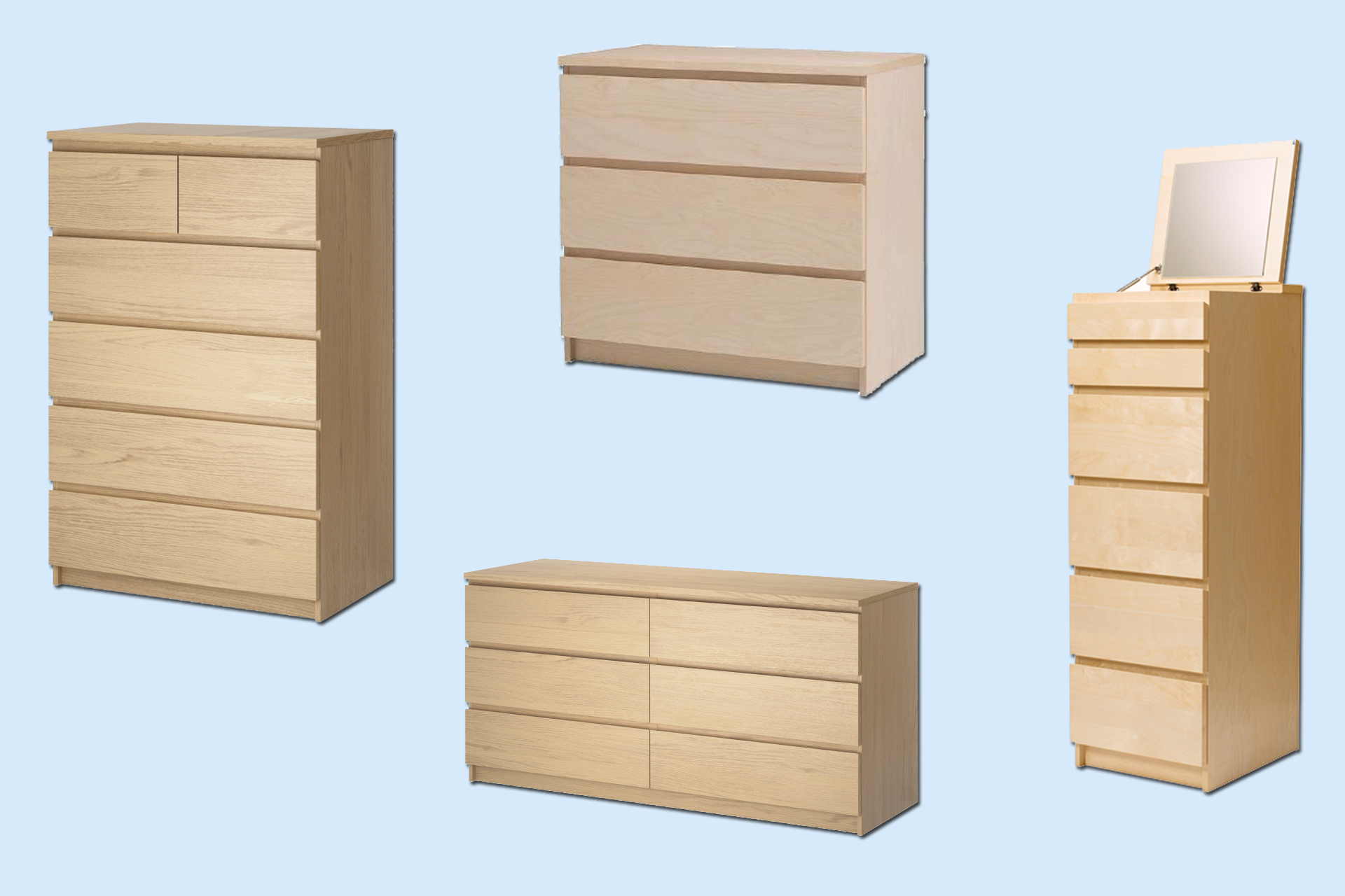 Ikea Renews Recall Notice For Dressers