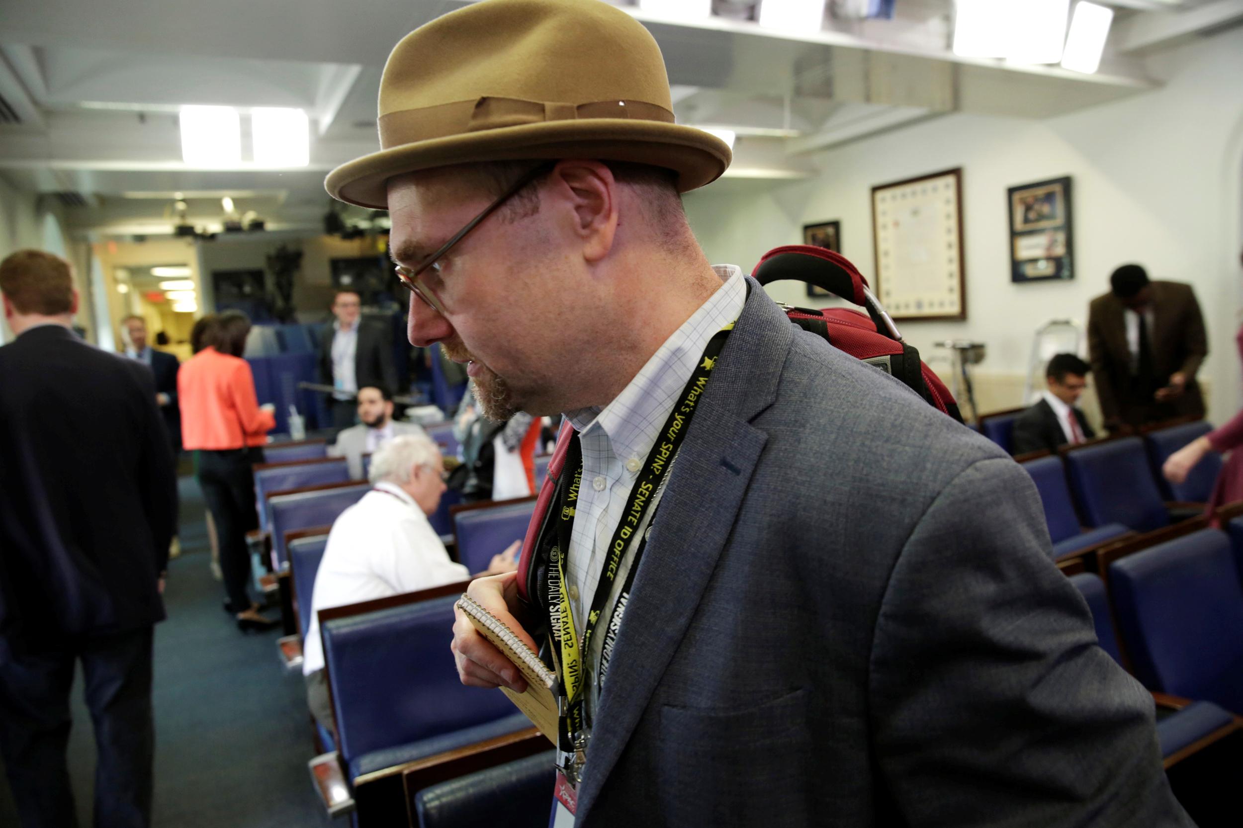Image: Glenn Thrush, chief White House political correspondent for the The New York Times