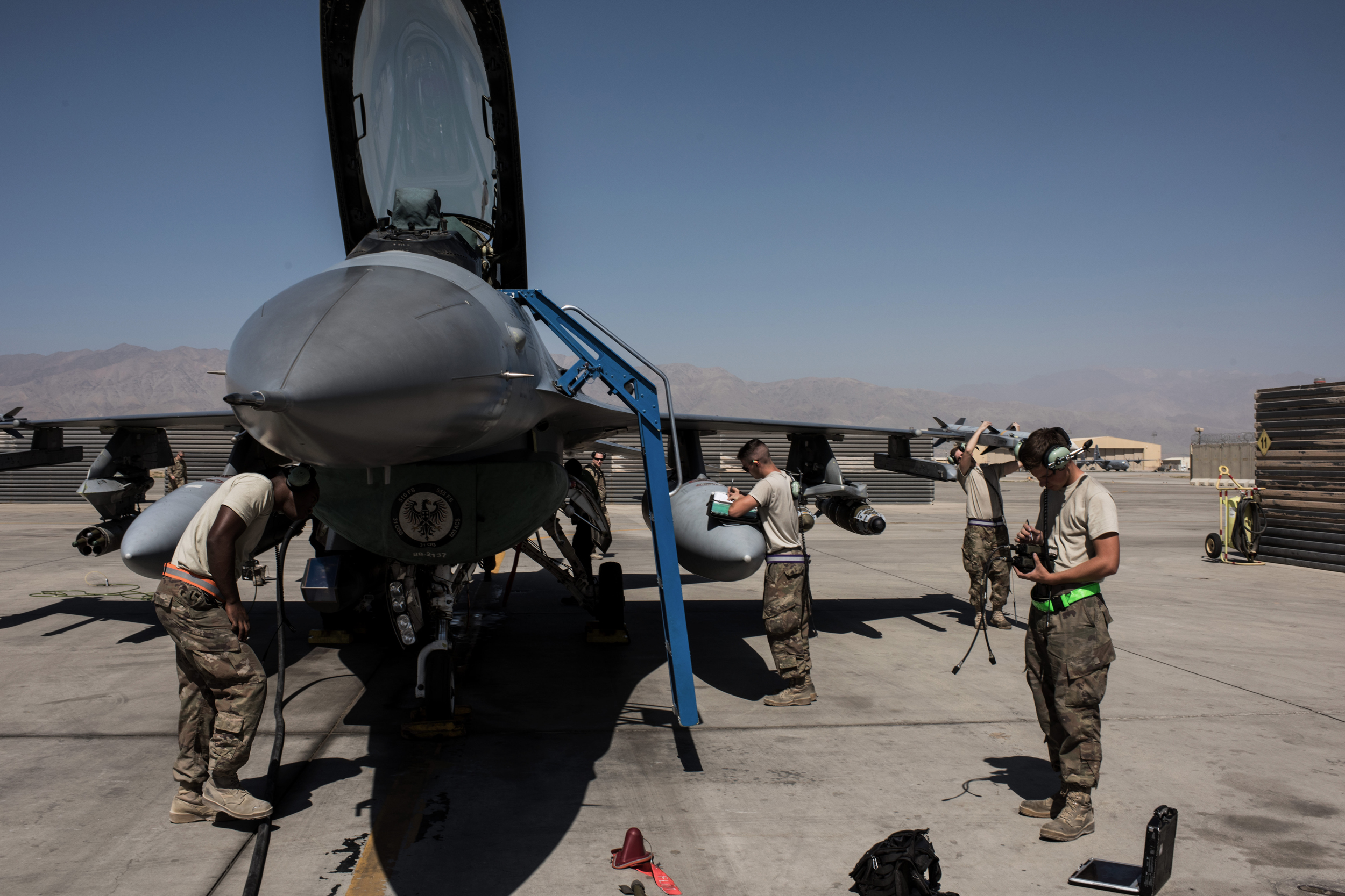U.S. on track to triple bombs dropped on Afghanistan